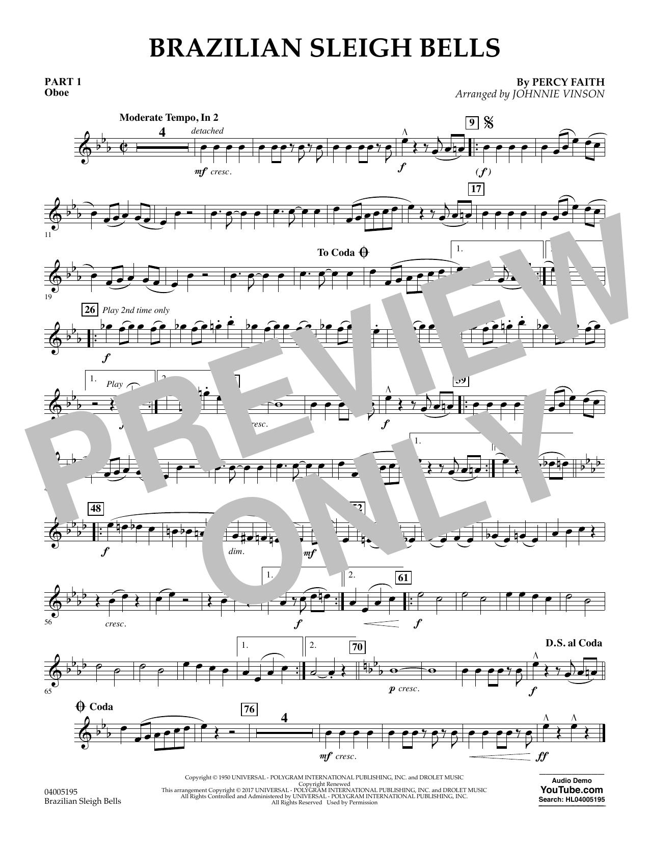 Brazilian Sleigh Bells - Pt.1 - Oboe (Flex-Band)