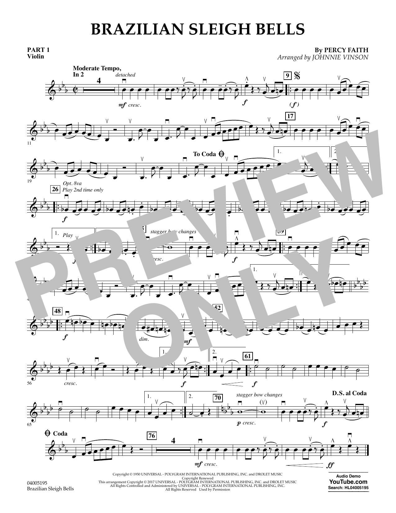 Brazilian Sleigh Bells - Pt.1 - Violin (Flex-Band)
