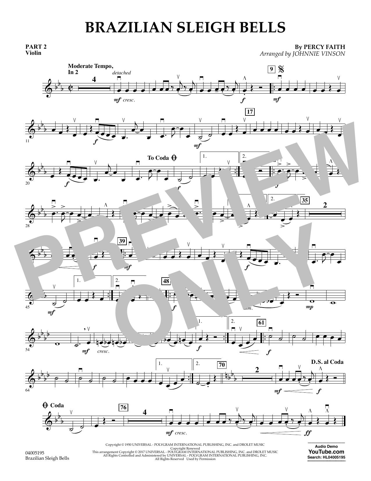 Brazilian Sleigh Bells - Pt.2 - Violin (Flex-Band)