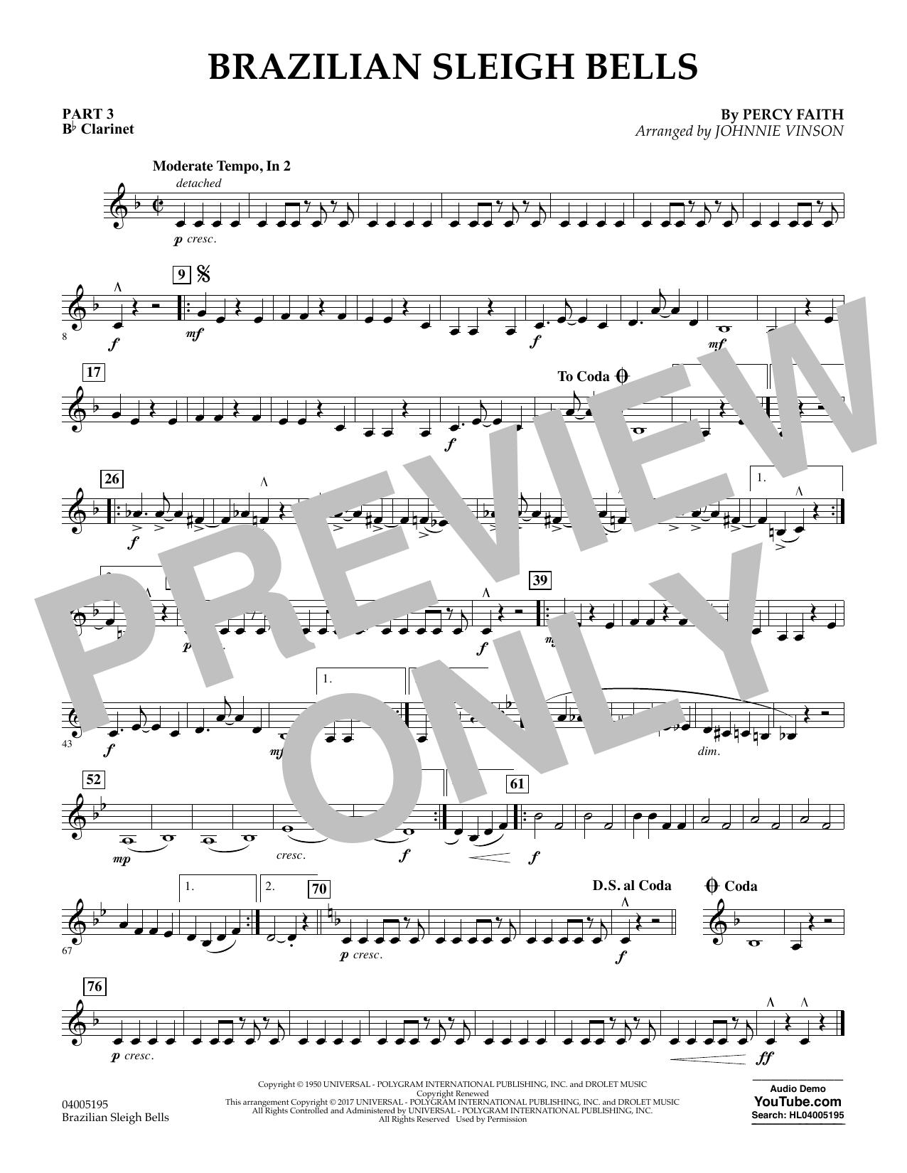 Brazilian Sleigh Bells - Pt.3 - Bb Clarinet (Flex-Band)