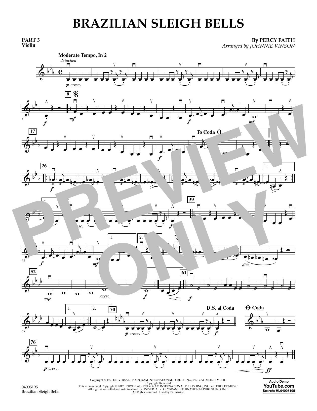 Brazilian Sleigh Bells - Pt.3 - Violin (Flex-Band)