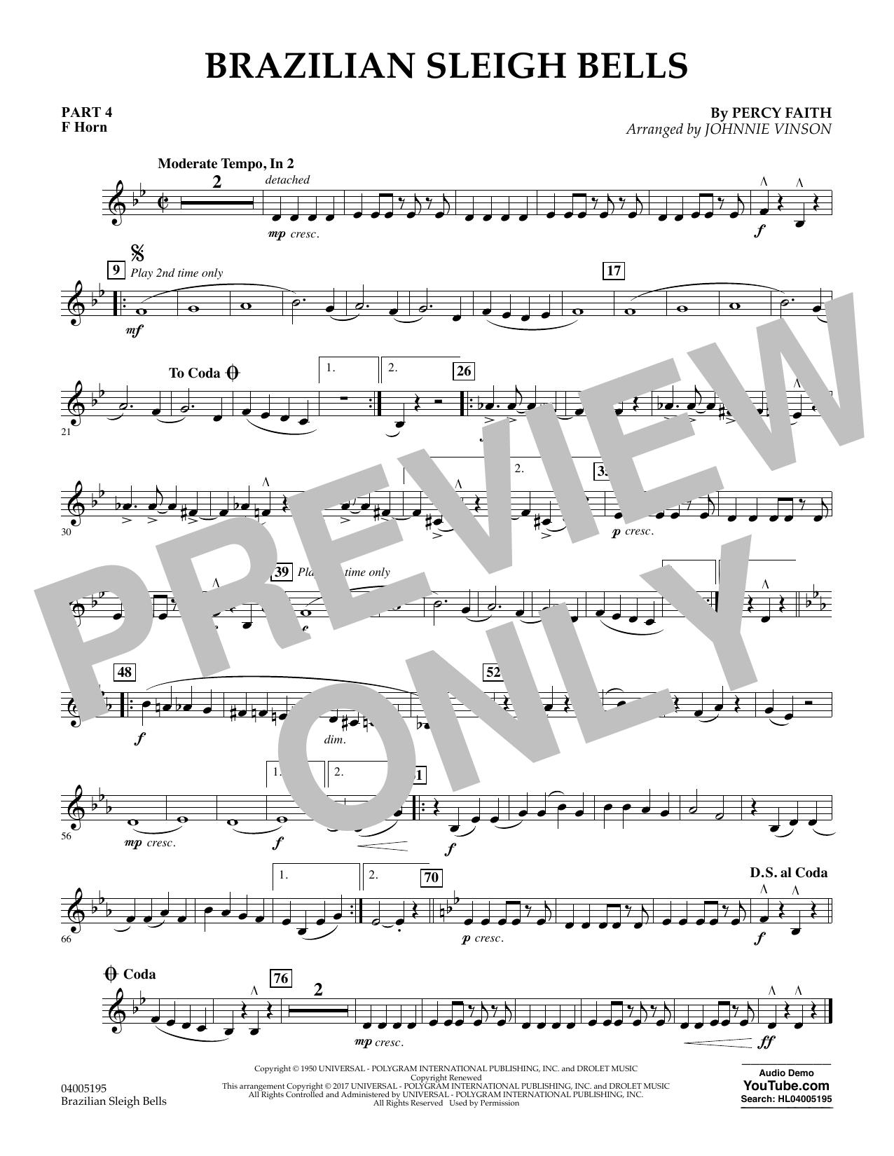 Brazilian Sleigh Bells - Pt.4 - F Horn (Flex-Band)
