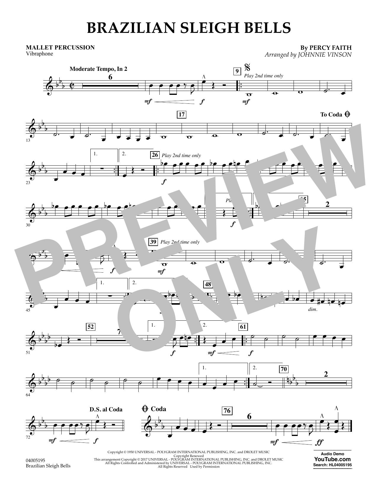 Brazilian Sleigh Bells - Mallet Percussion (Flex-Band)