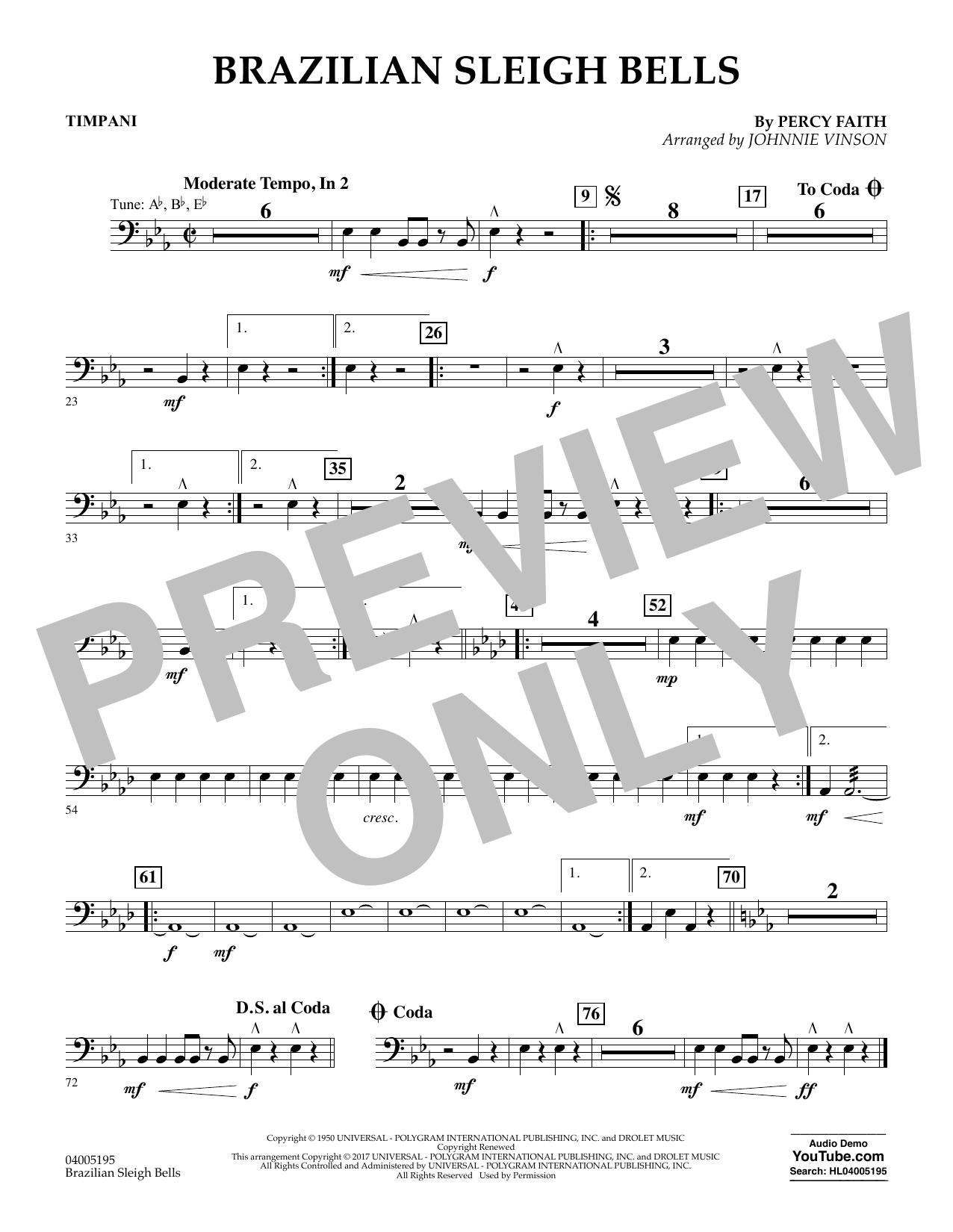 Brazilian Sleigh Bells - Timpani (Flex-Band)