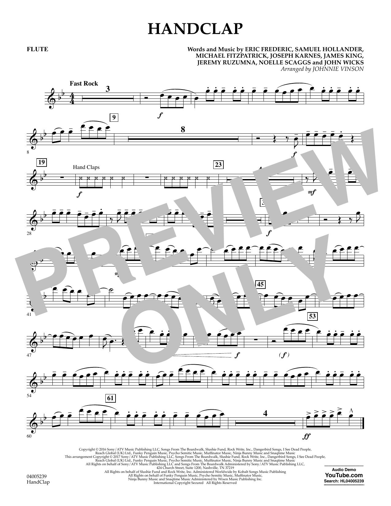 HandClap - Flute (Concert Band)