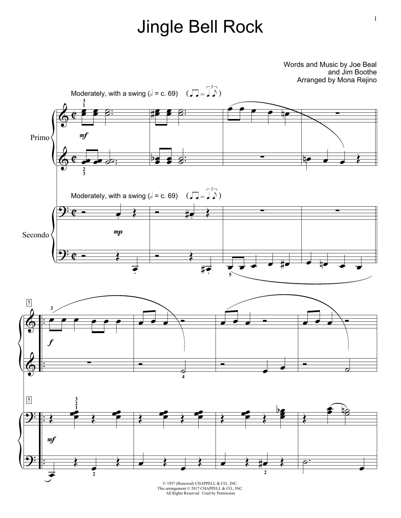 Jingle Bell Rock (Piano Duet)