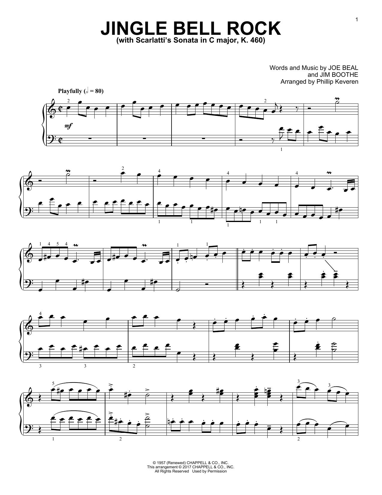 Jingle Bell Rock (Piano Solo)