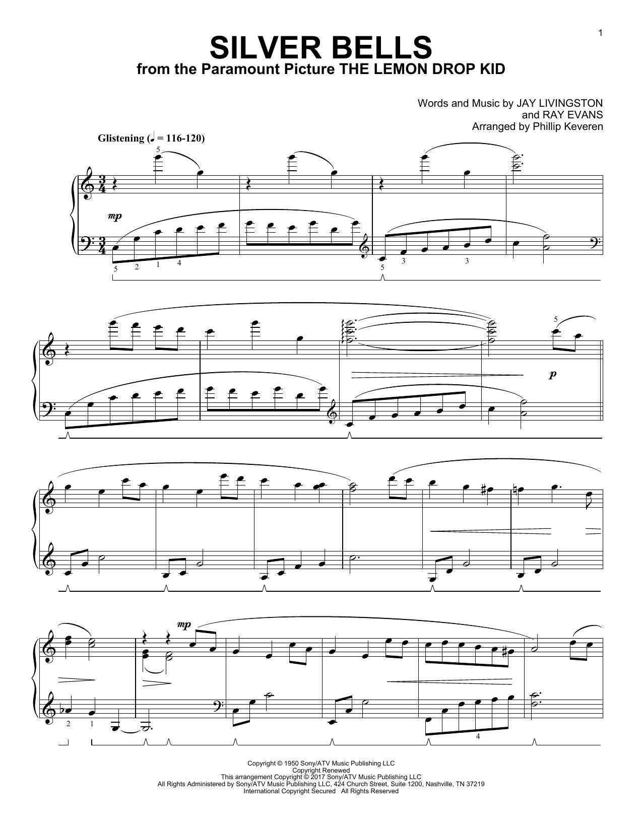 Silver Bells [Classical version] (arr. Phillip Keveren) (Piano Solo)