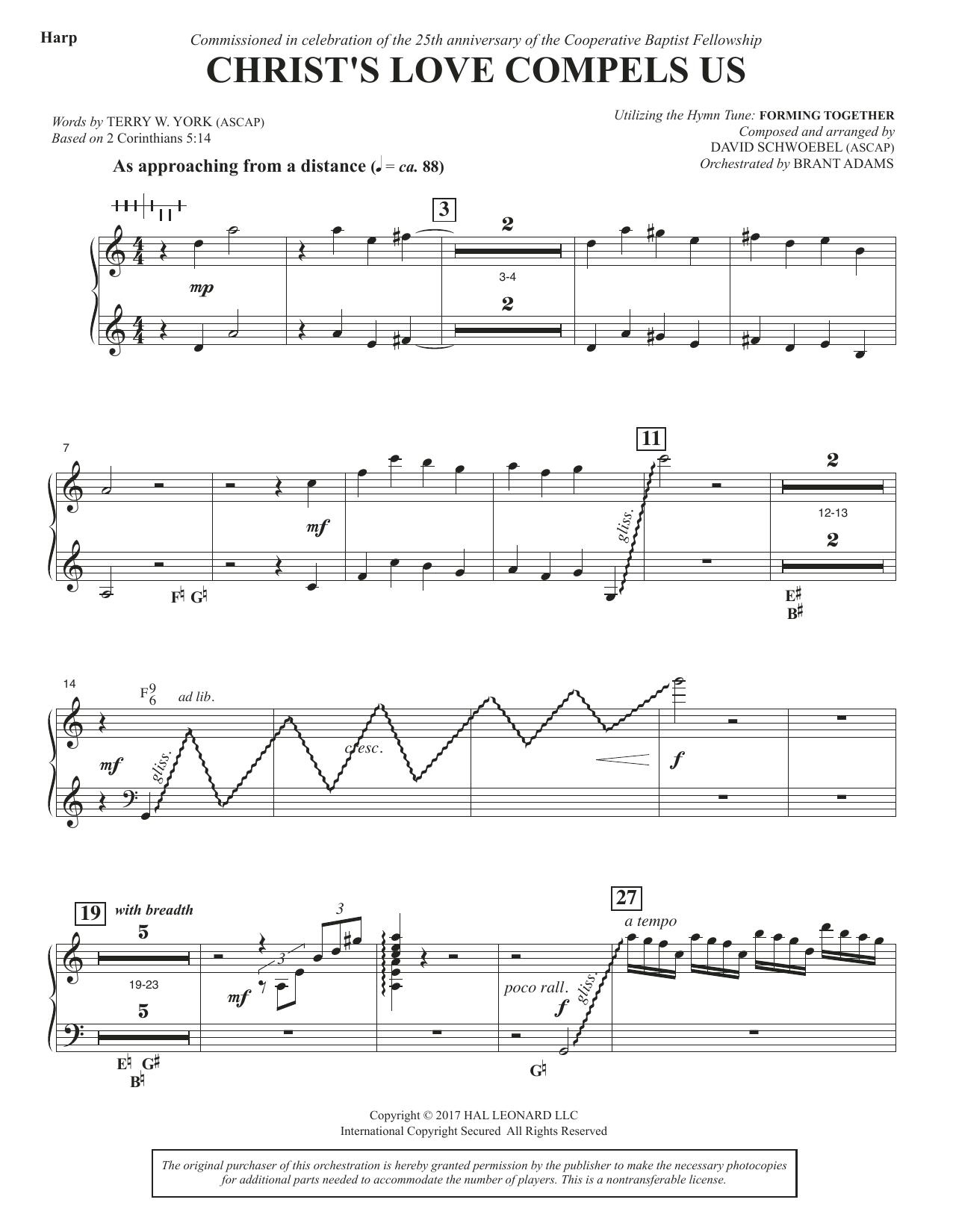 Christ's Love Compels Us - Harp (Choir Instrumental Pak)