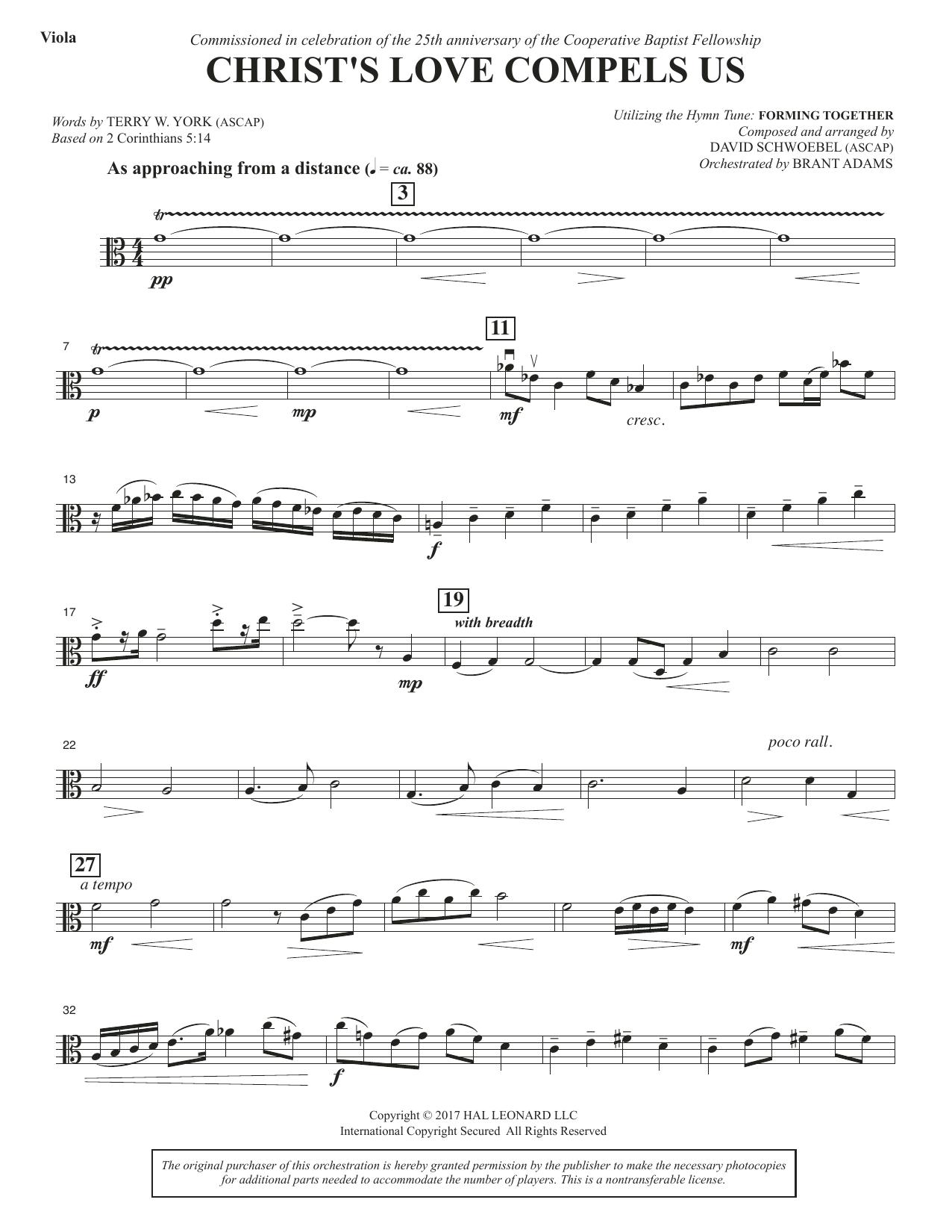 Christ's Love Compels Us - Viola (Choir Instrumental Pak)