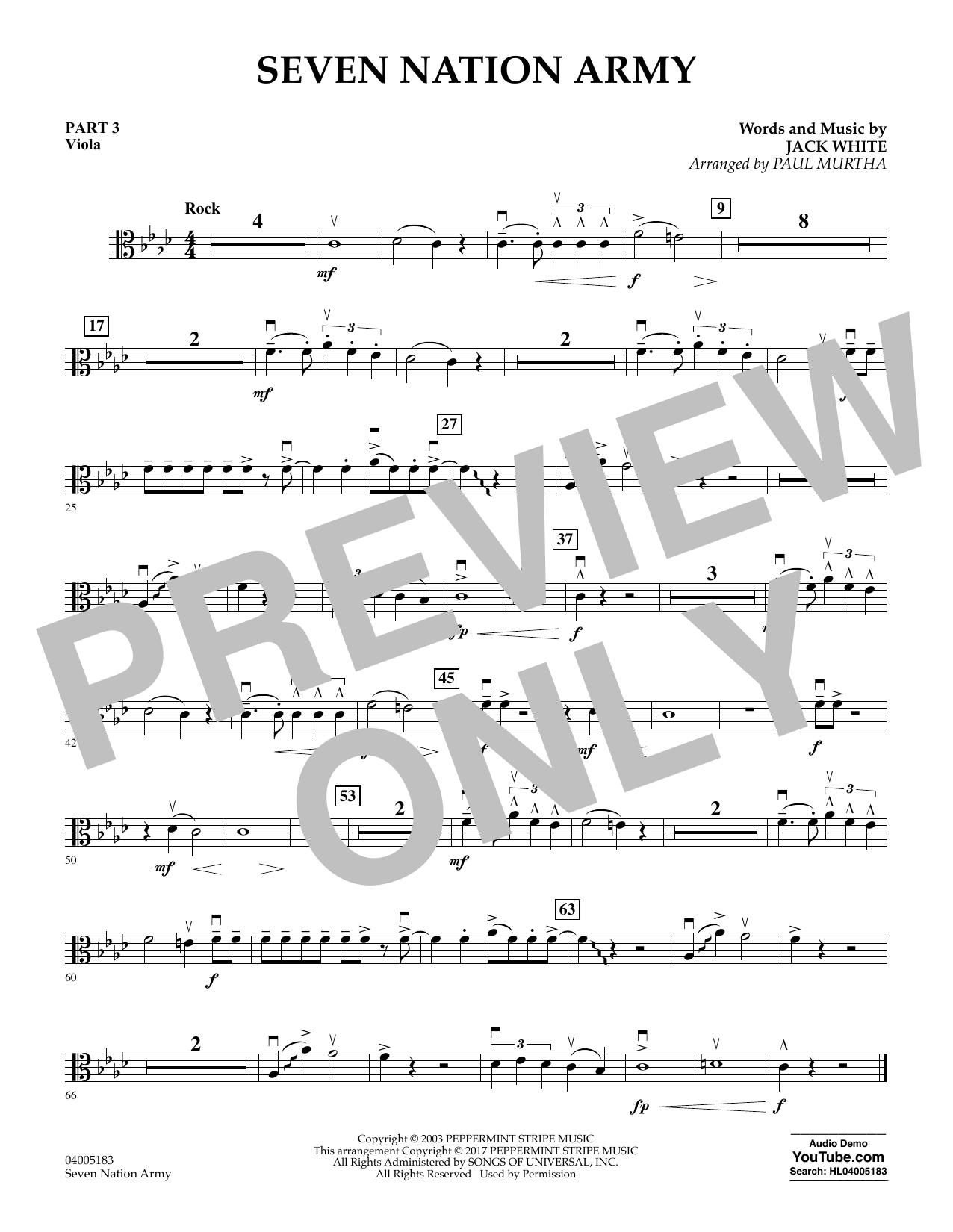 Seven Nation Army - Pt.3 - Viola (Flex-Band)