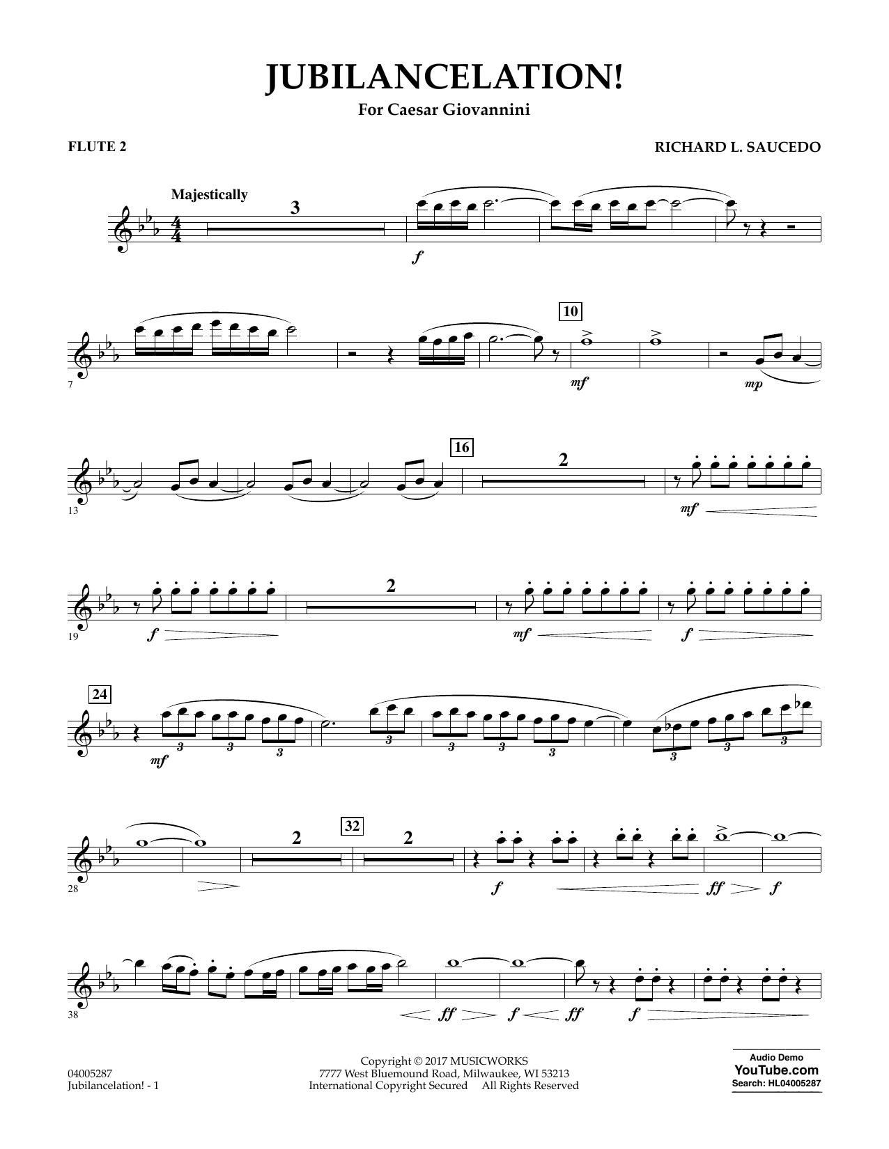 Jubilancelation! - Flute 2 (Concert Band)