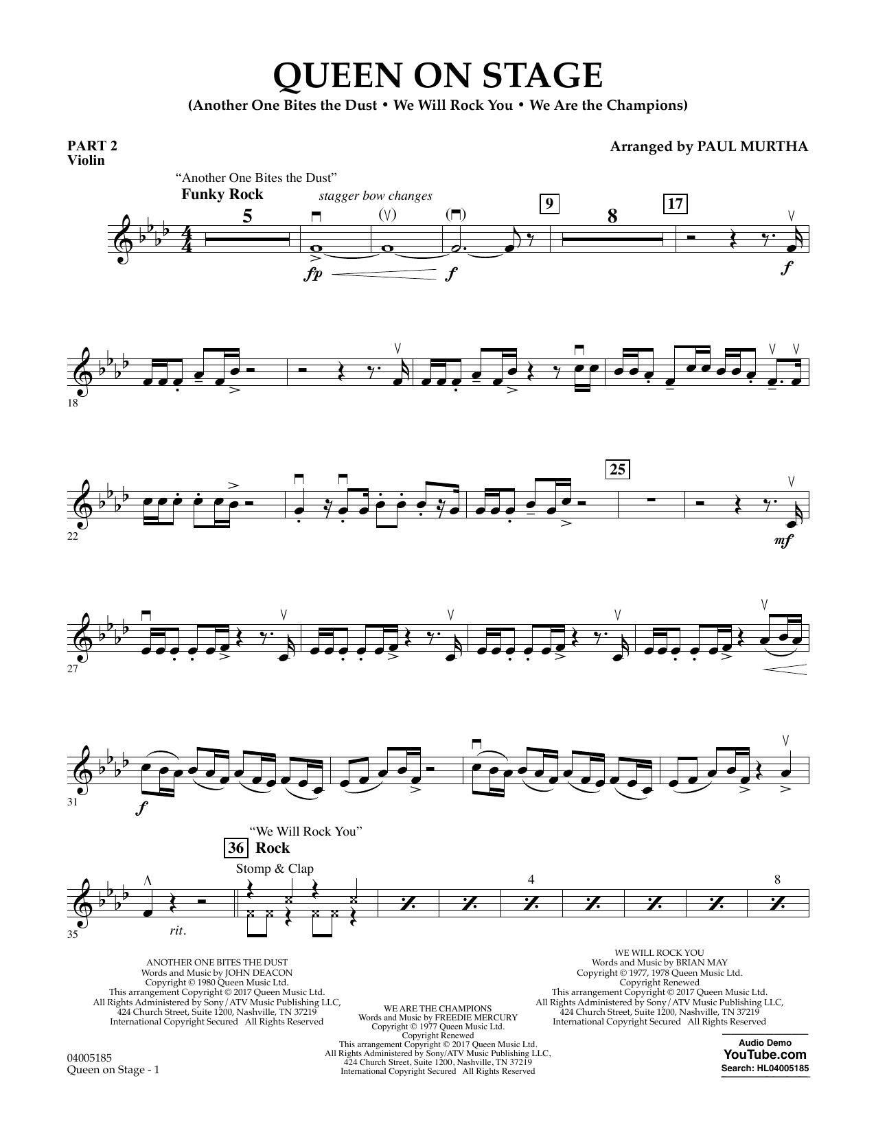 Queen On Stage - Pt.2 - Violin (Flex-Band)