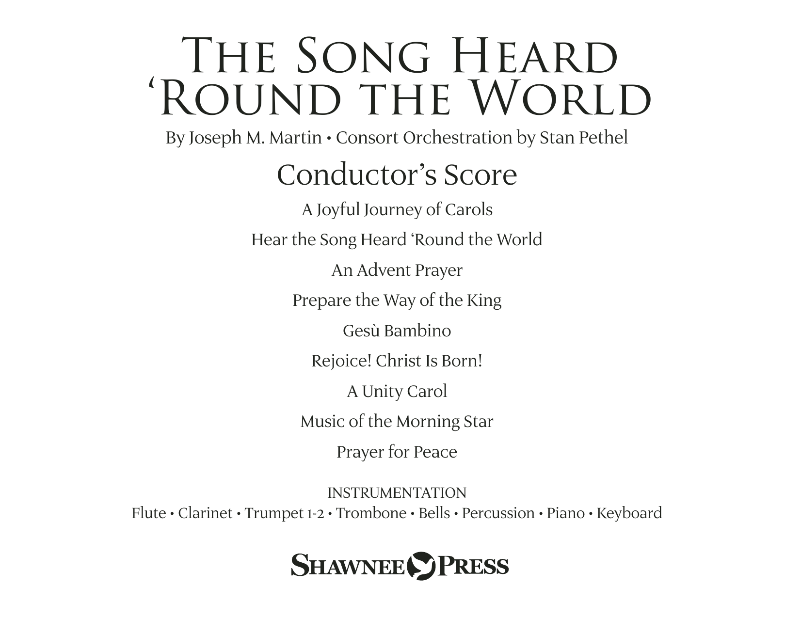 The Song Heard 'Round the World (COMPLETE) sheet music for orchestra/band by Joseph M. Martin, Jonathan Martin and Traditional Finnish Folk Melod. Score Image Preview.