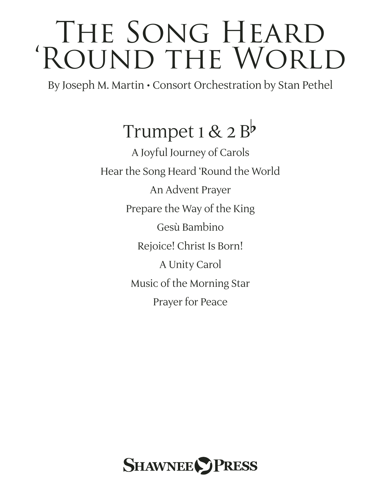 The Song Heard 'Round the World - Bb Trumpet 1,2 Sheet Music