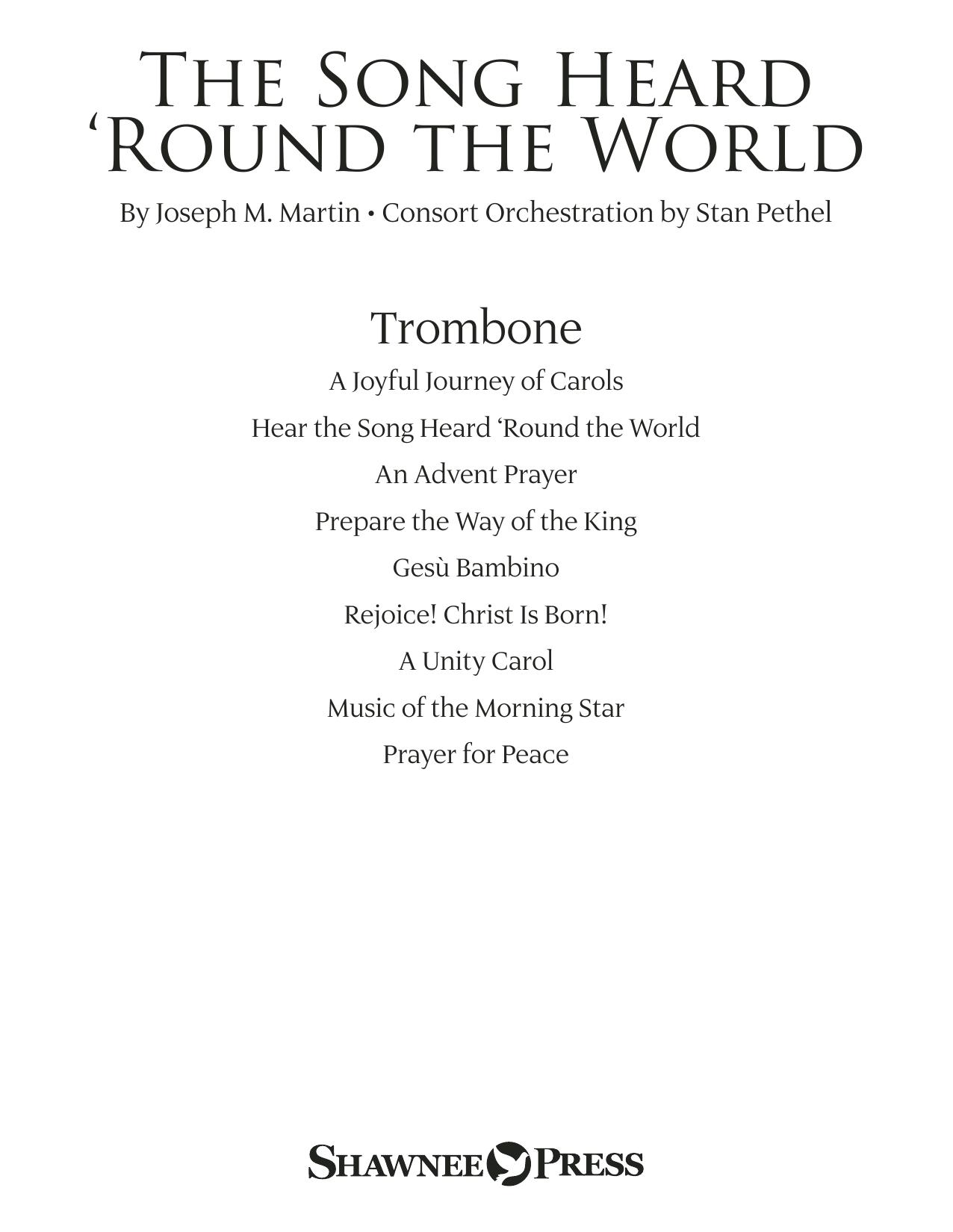 The Song Heard 'Round the World - Trombone Sheet Music