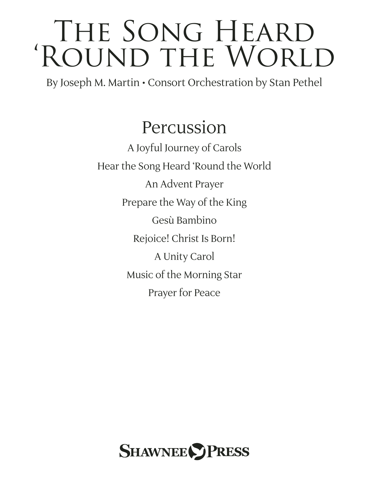 The Song Heard 'Round the World - Percussion Sheet Music