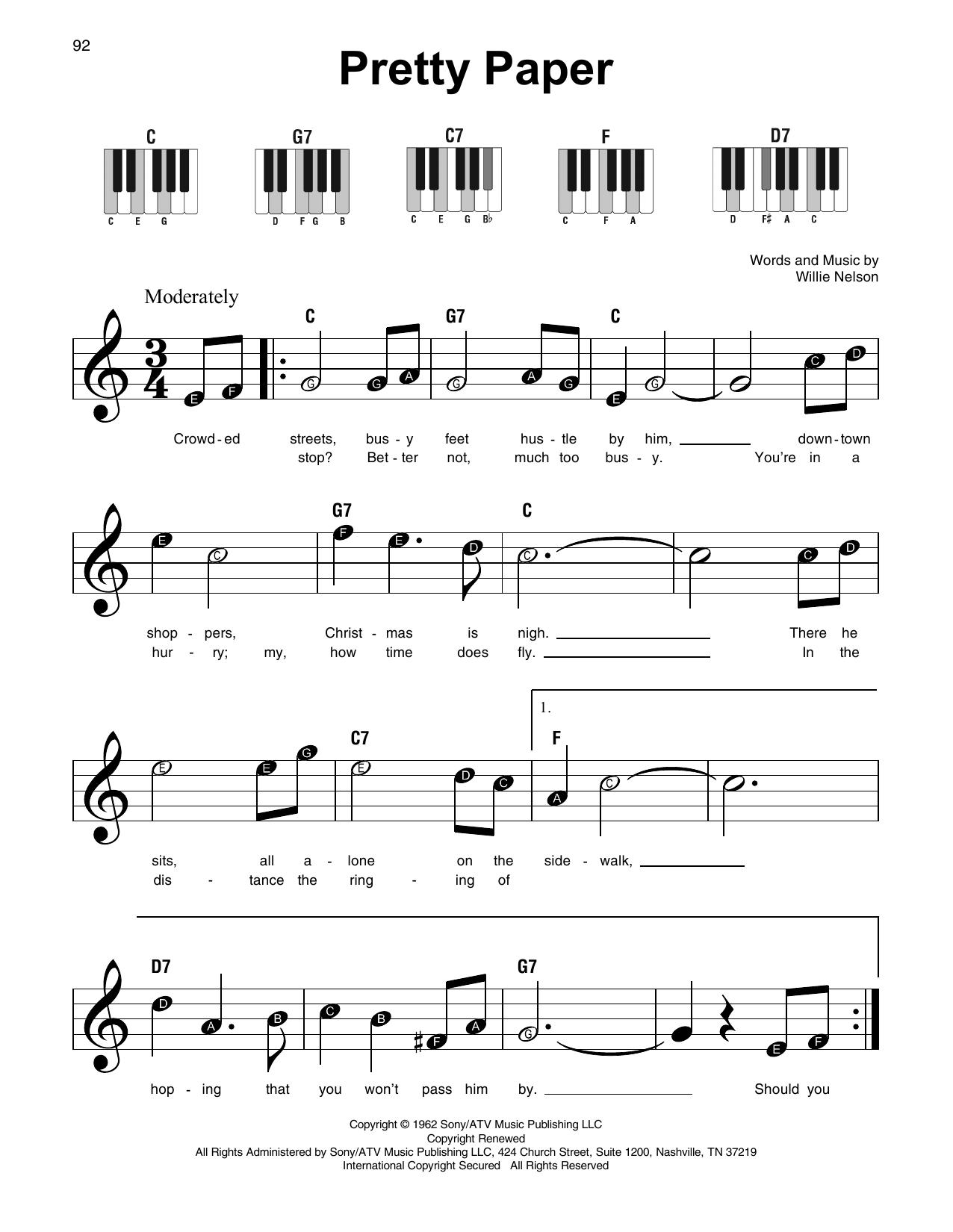 Pretty Paper (Super Easy Piano)