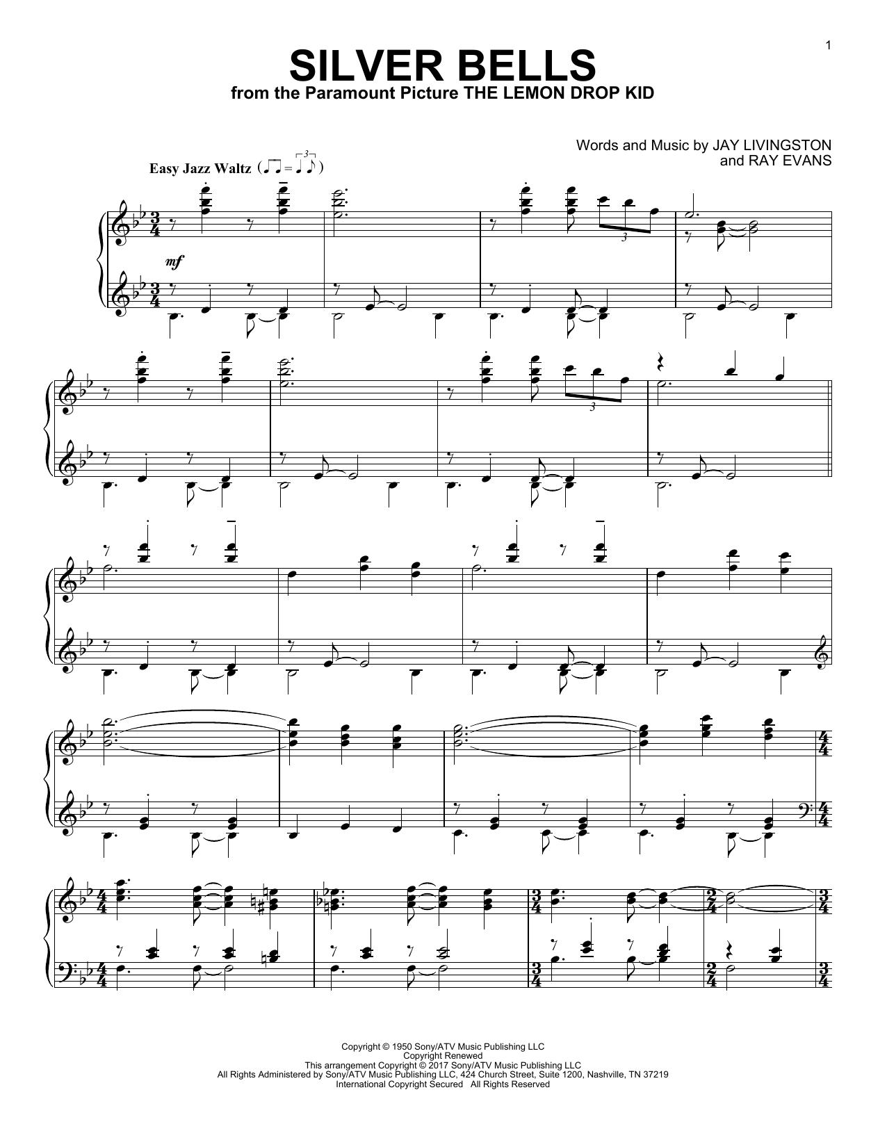 Silver Bells (Piano Solo)