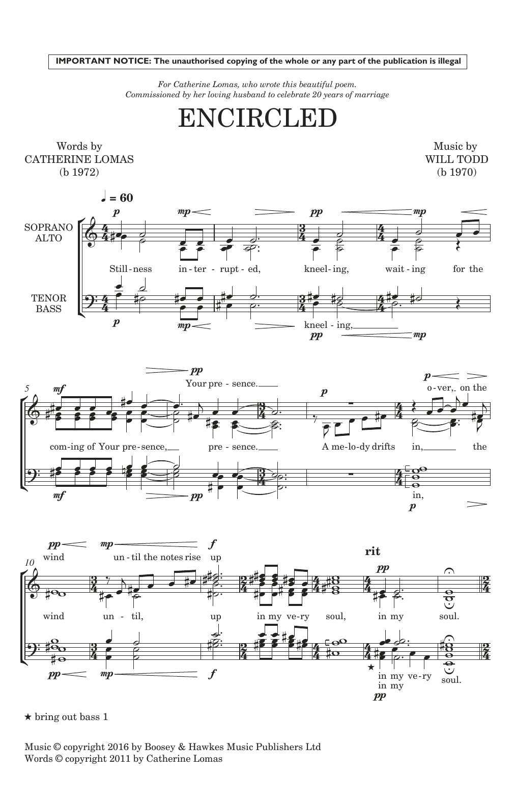 Encircled (SATB Choir)