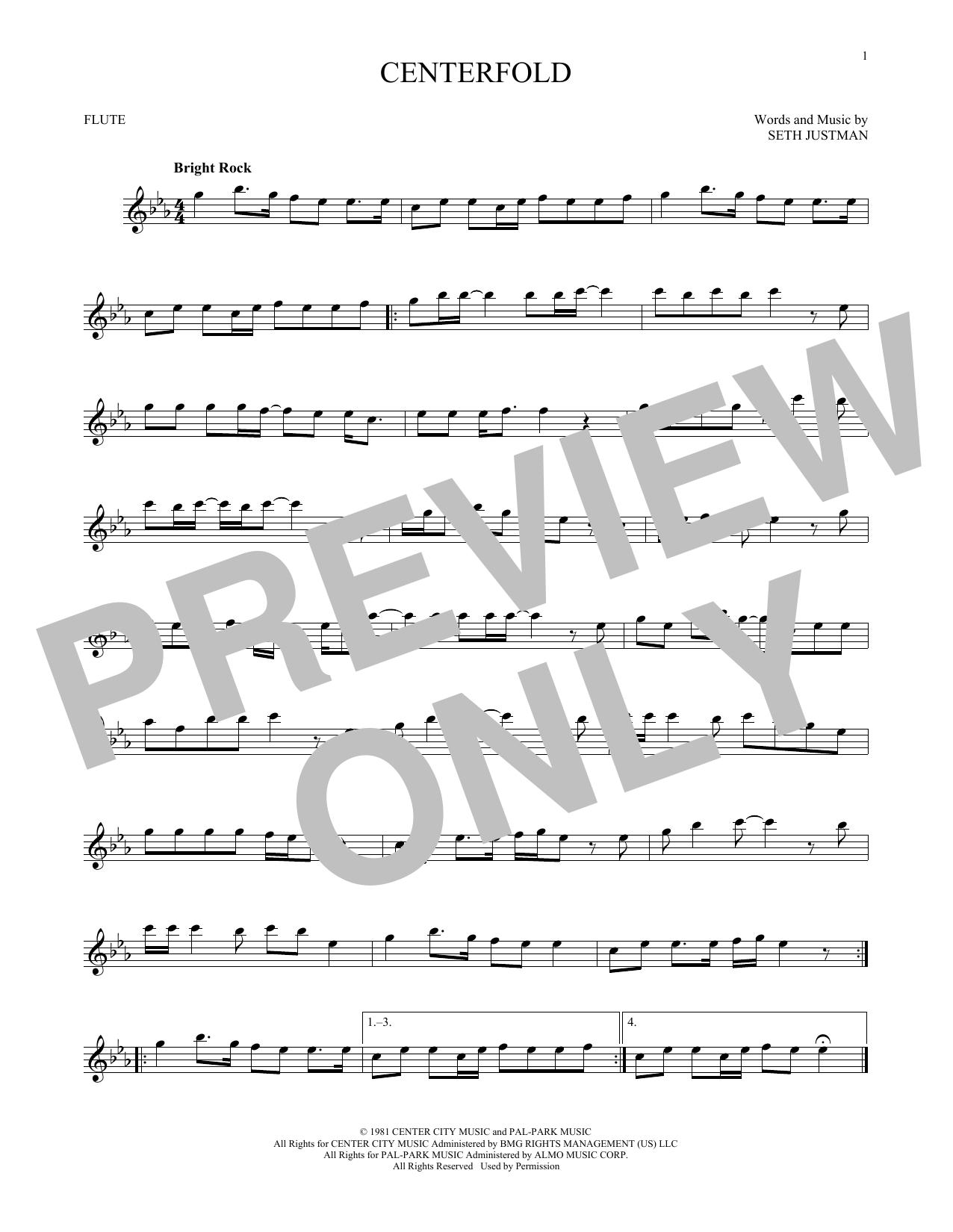Centerfold (Flute Solo)