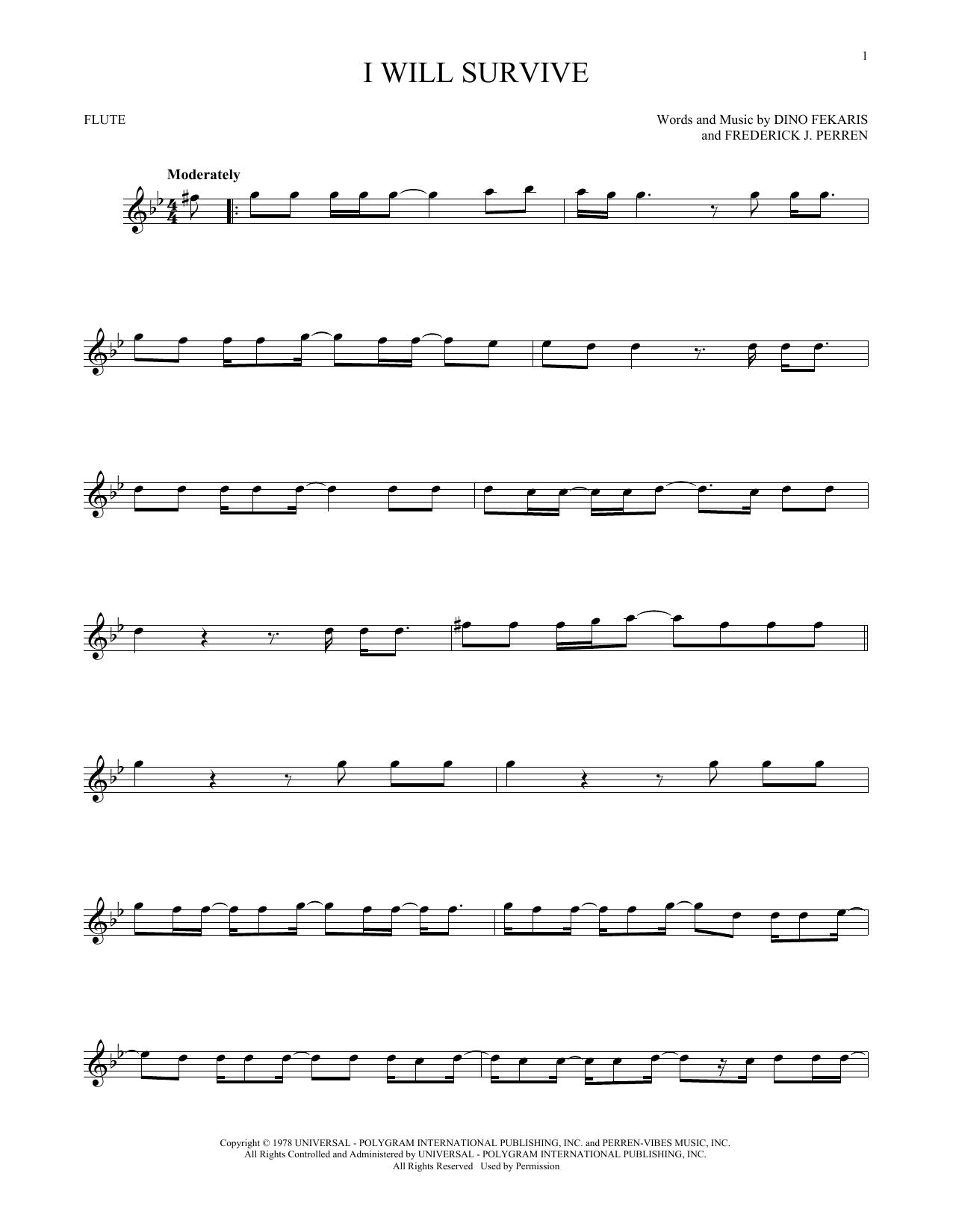 I Will Survive (Flute Solo)