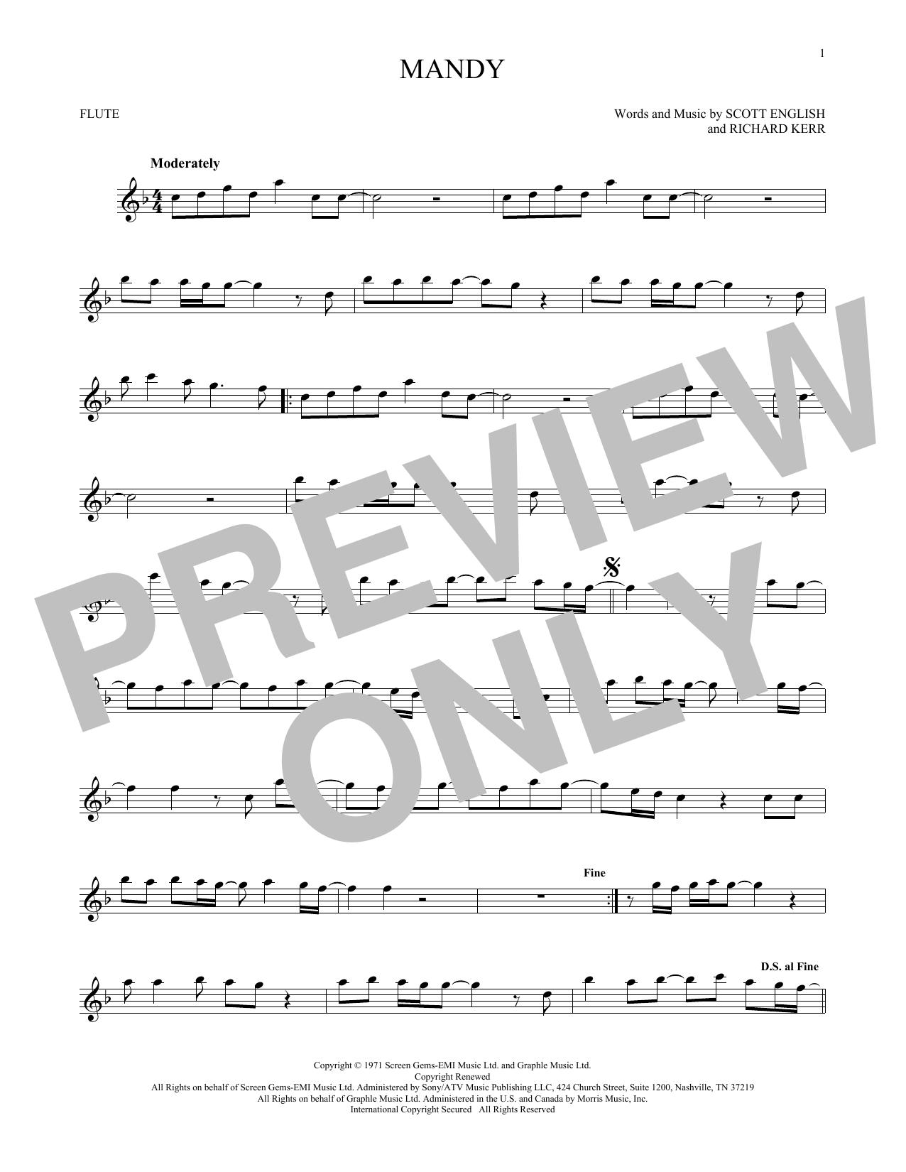 Mandy (Flute Solo)