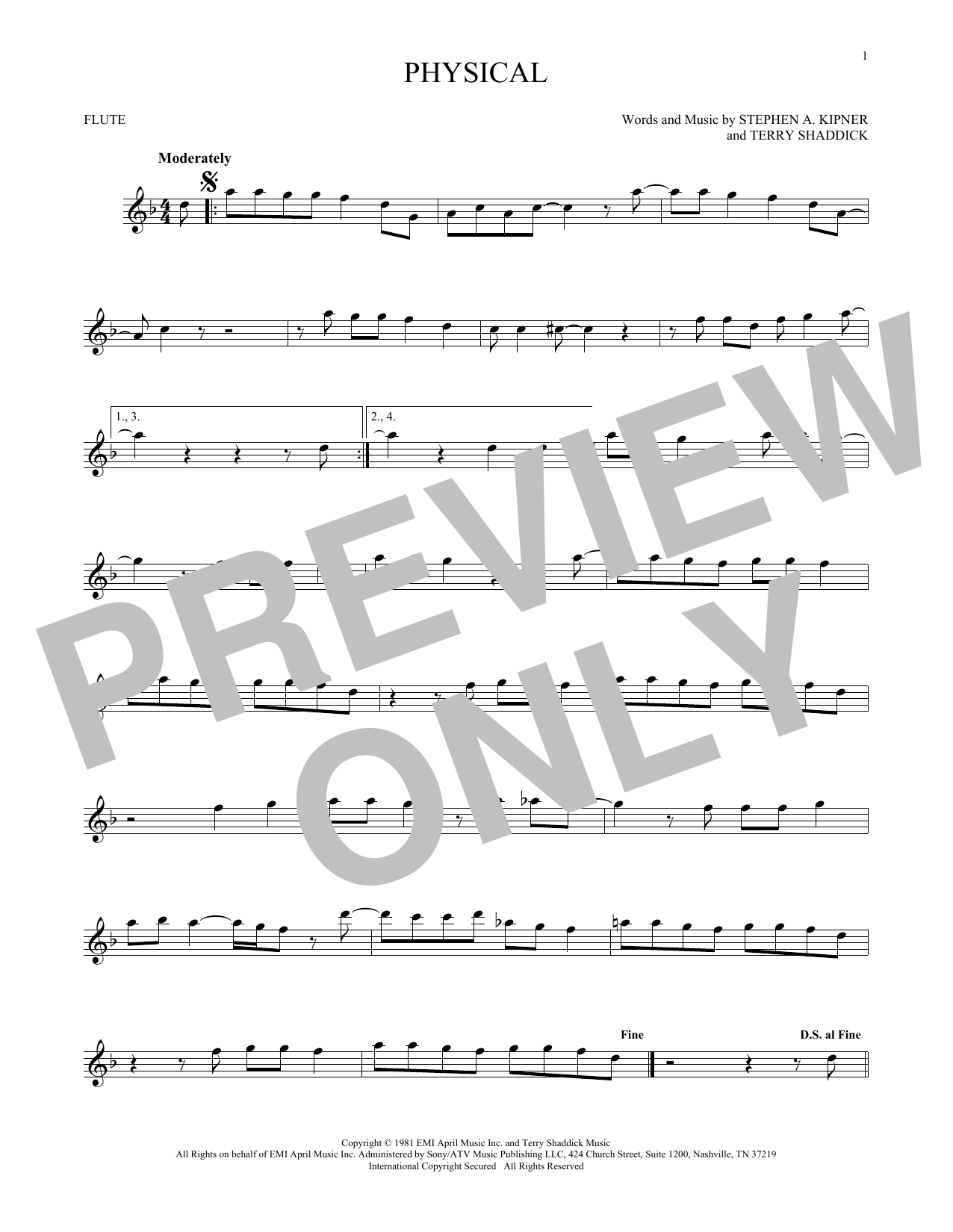 Physical (Flute Solo)