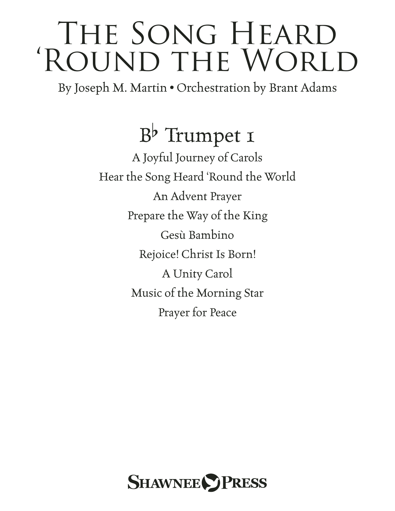 The Song Heard 'Round the World - Bb Trumpet 1 Sheet Music