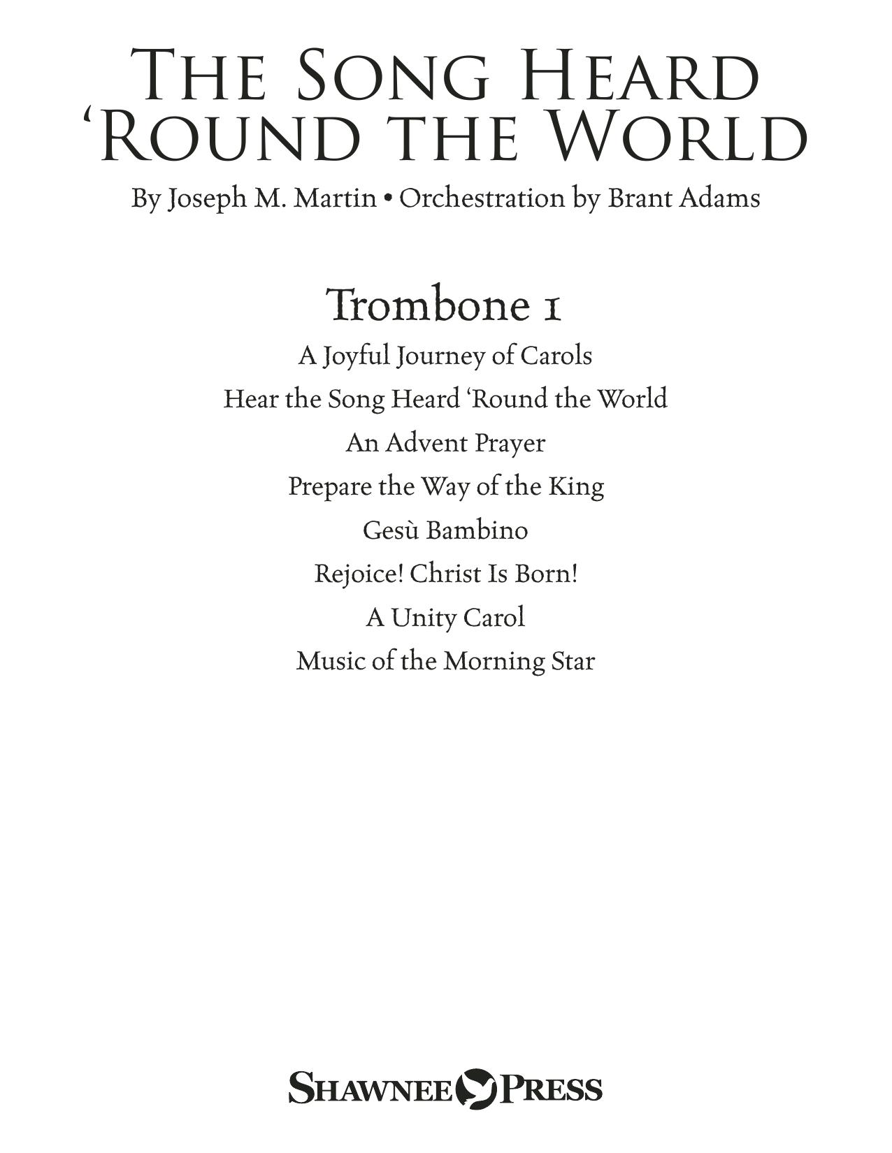 The Song Heard 'Round the World - Trombone 1 Sheet Music