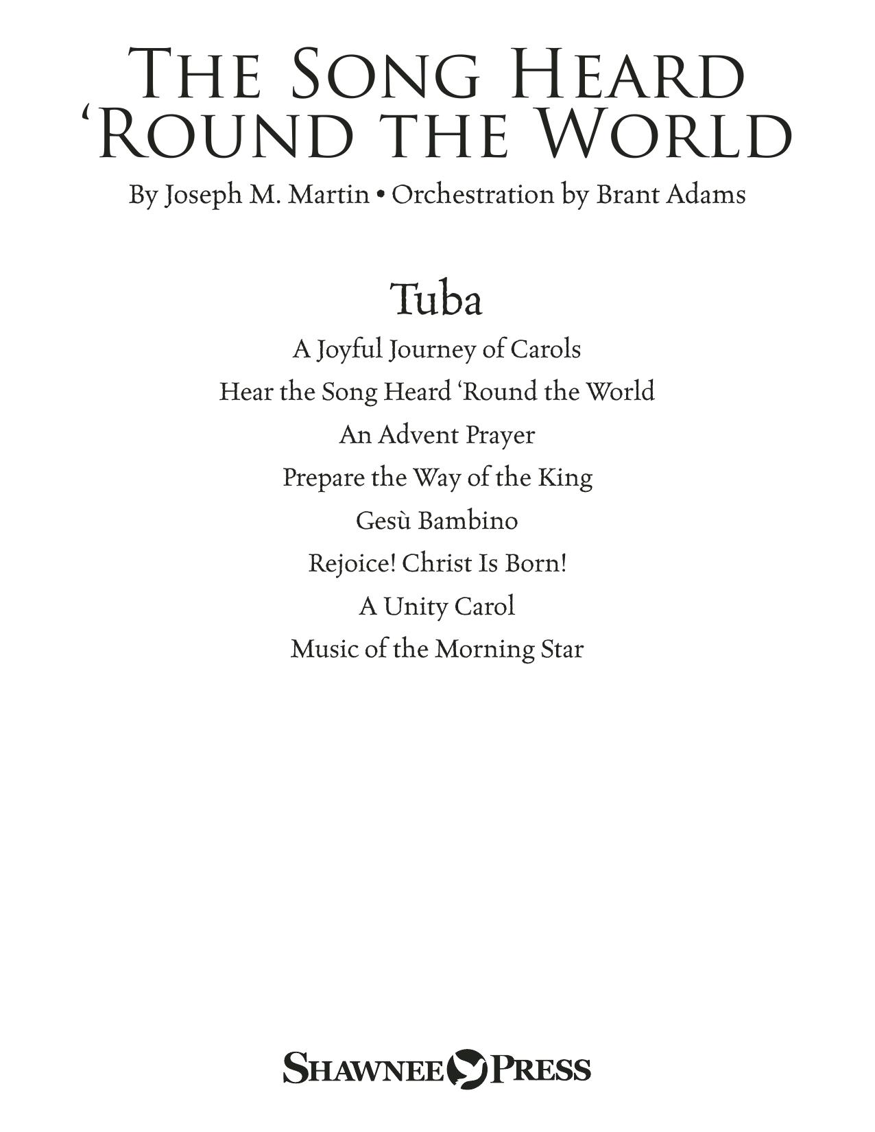 The Song Heard 'Round the World - Tuba Sheet Music