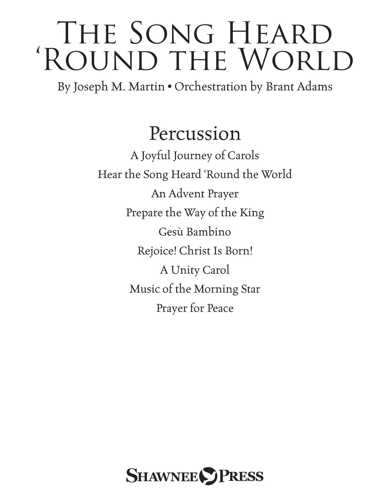 The Song Heard 'Round the World - Percussion 1-4 Sheet Music