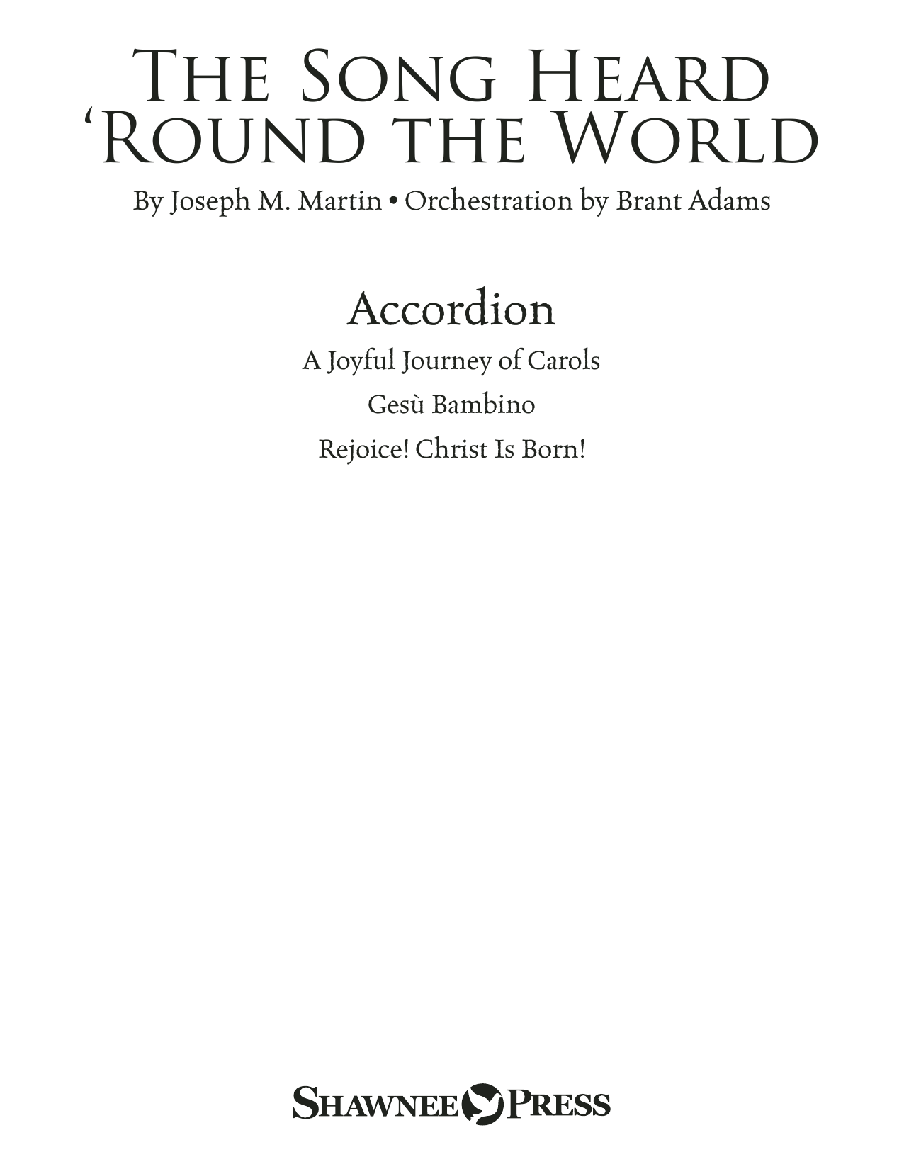 The Song Heard 'Round the World - Accordion Sheet Music