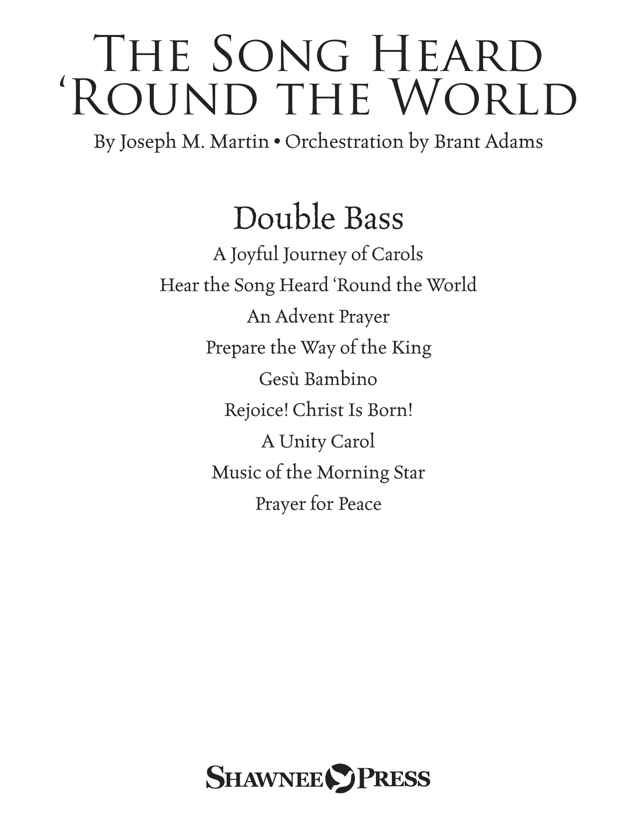 The Song Heard 'Round the World - Double Bass Sheet Music