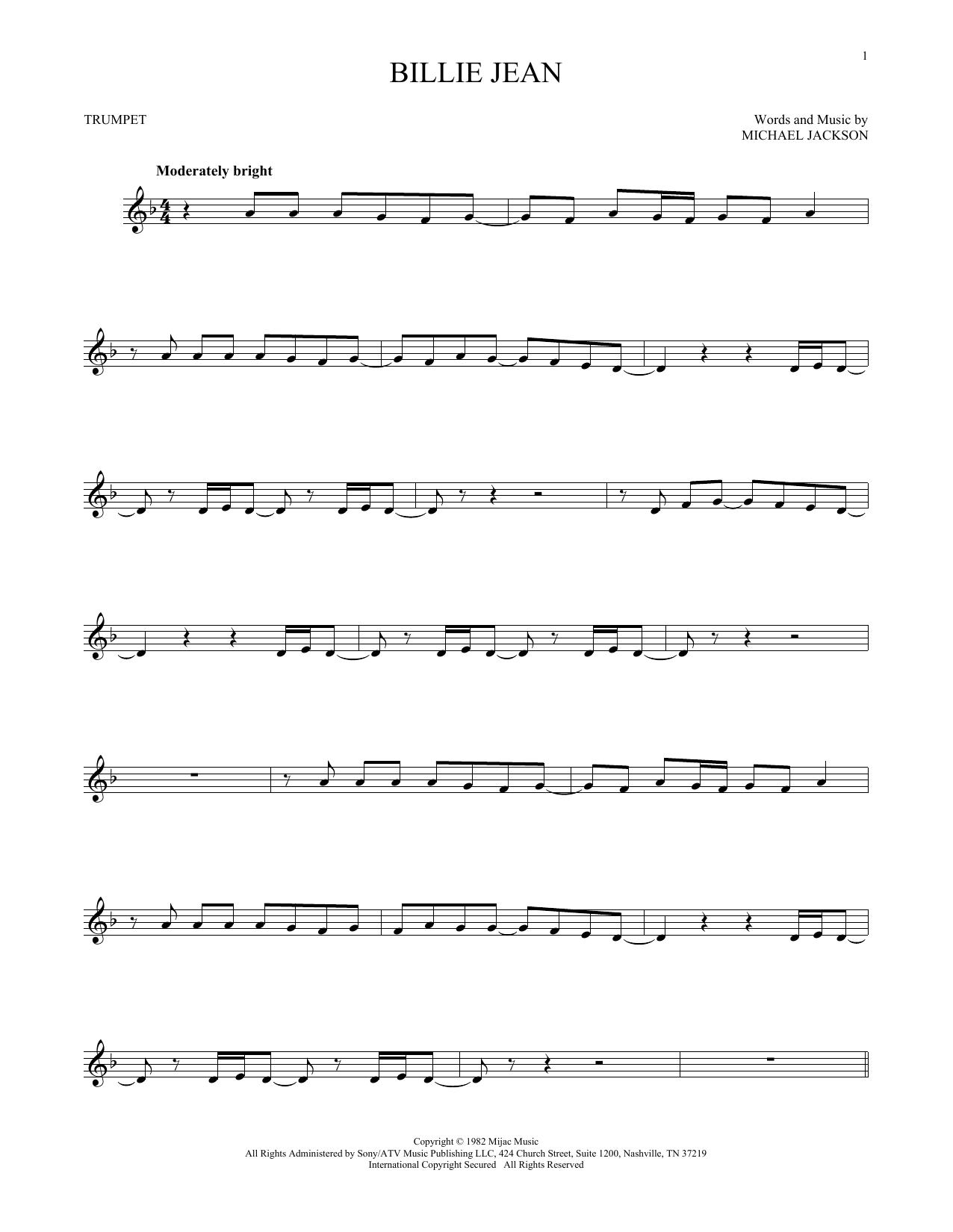 Billie Jean (Trumpet Solo)
