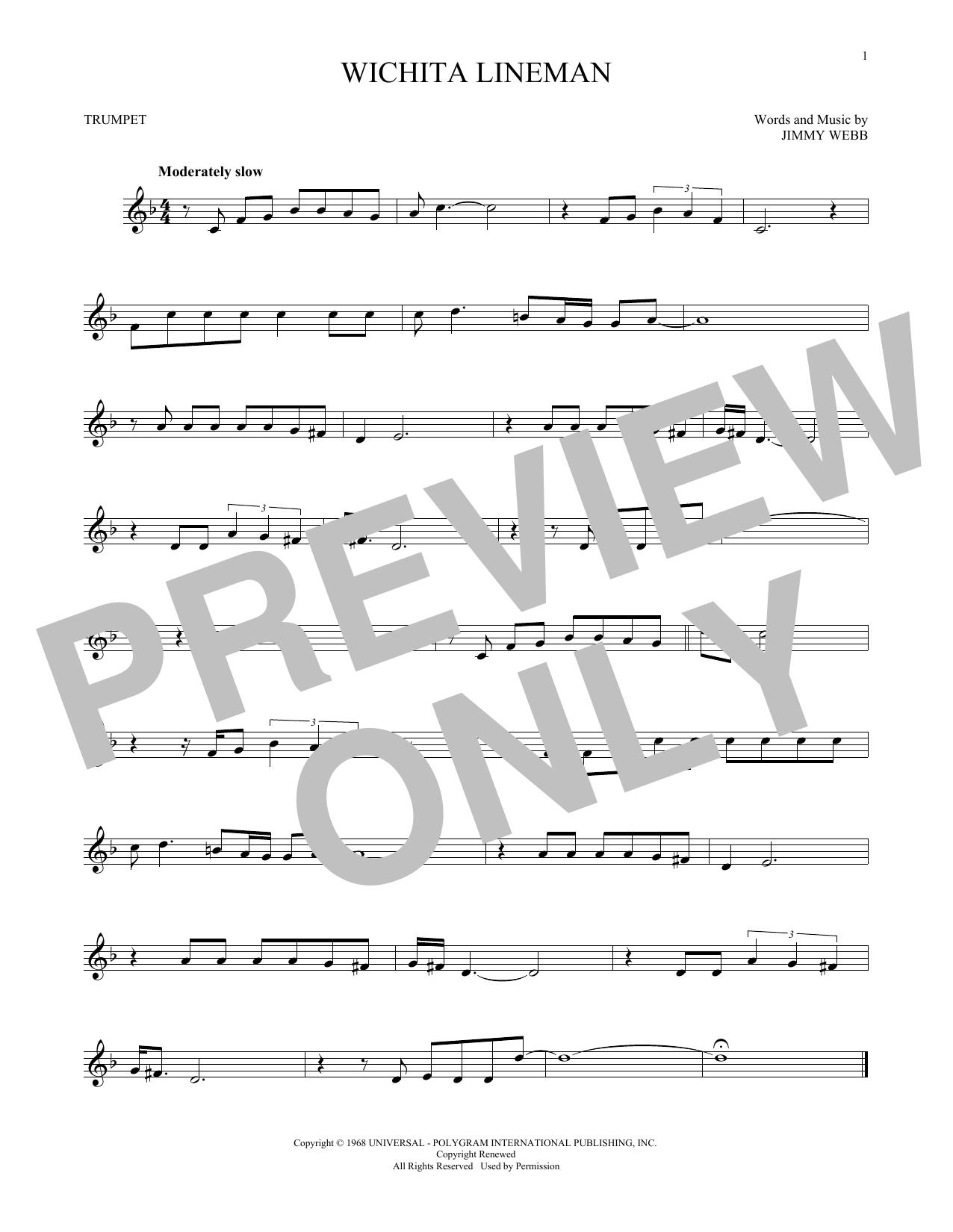 Wichita Lineman (Trumpet Solo)