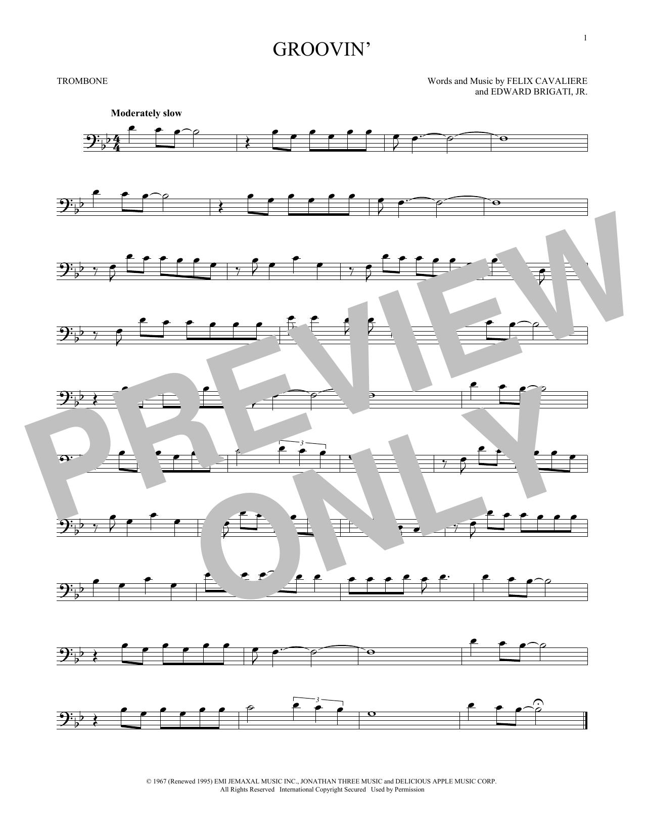 Groovin' (Trombone Solo)