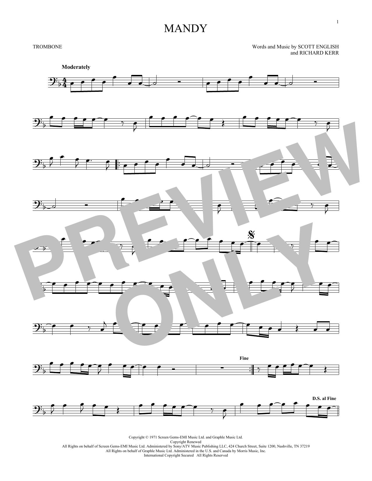 Mandy (Trombone Solo)