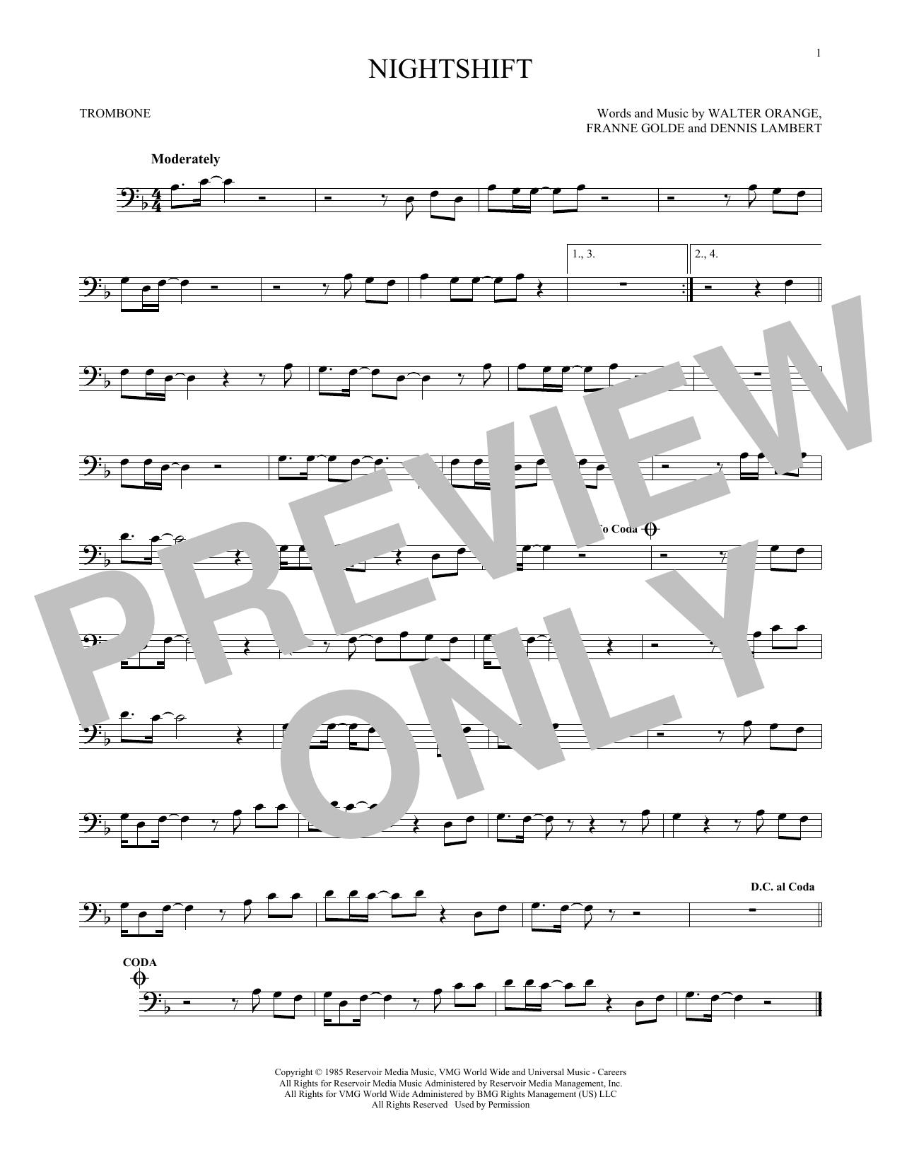 Nightshift (Trombone Solo)