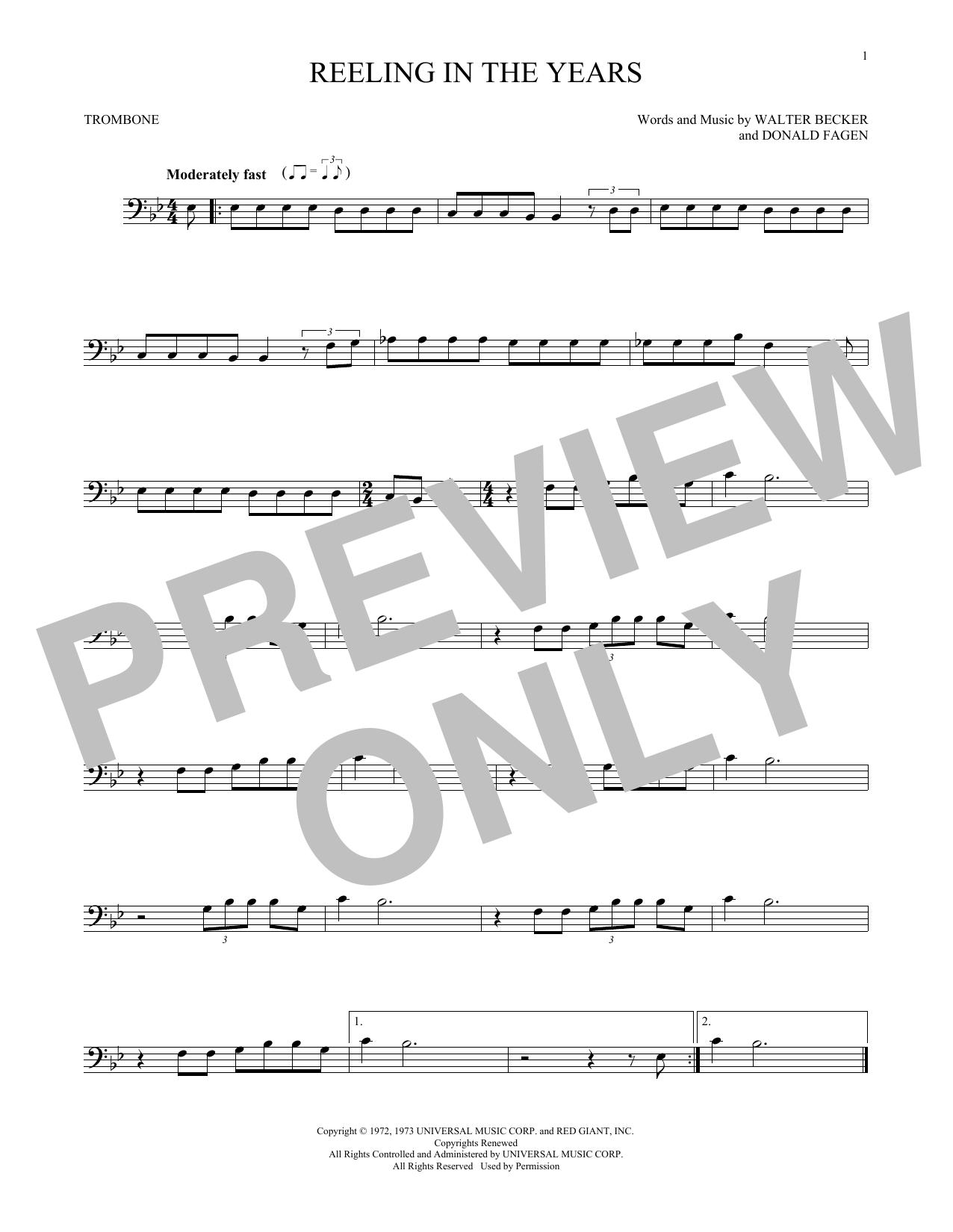 Reeling In The Years (Trombone Solo)