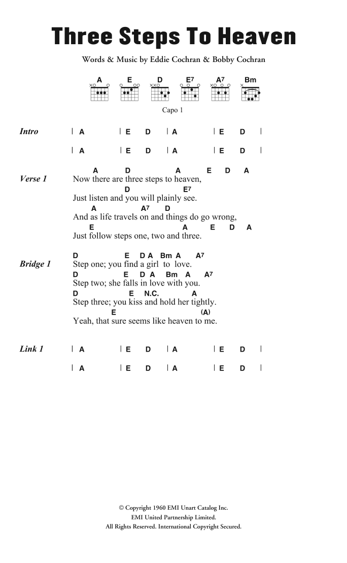 Guitar Chord at Stanton\'s Sheet Music