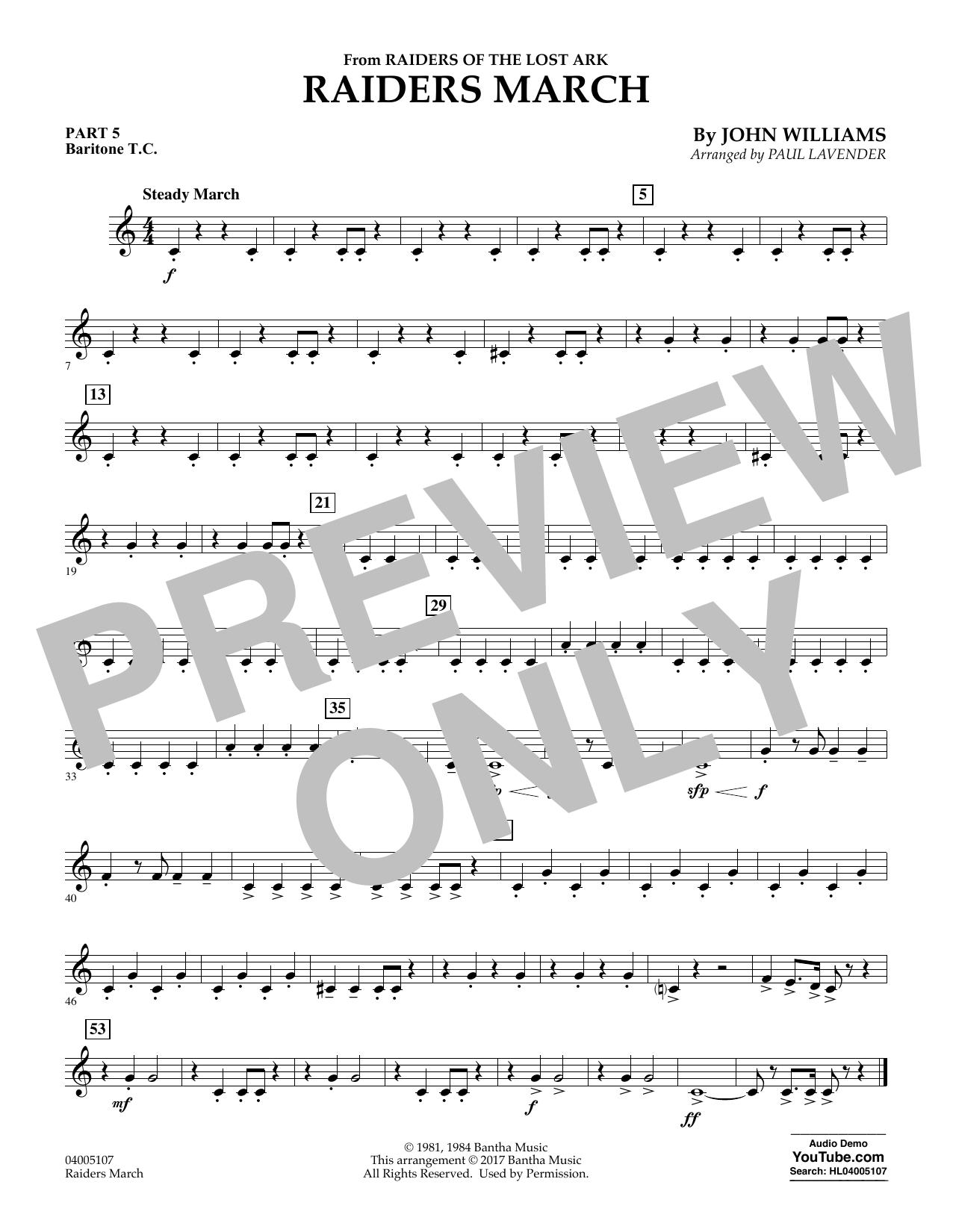 Raiders March - Pt.5 - Baritone T.C. (Flex-Band)