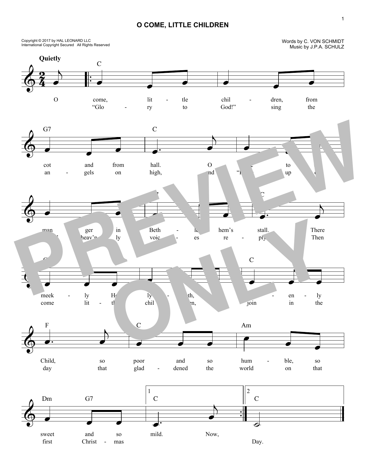 The Easy Christmas Carols Fake Book - Melody, Lyrics & Simplified Chords in the Key of C by Various