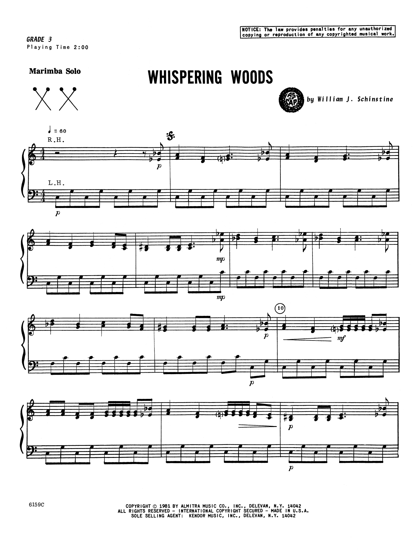 Whispering Woods Partition Digitale