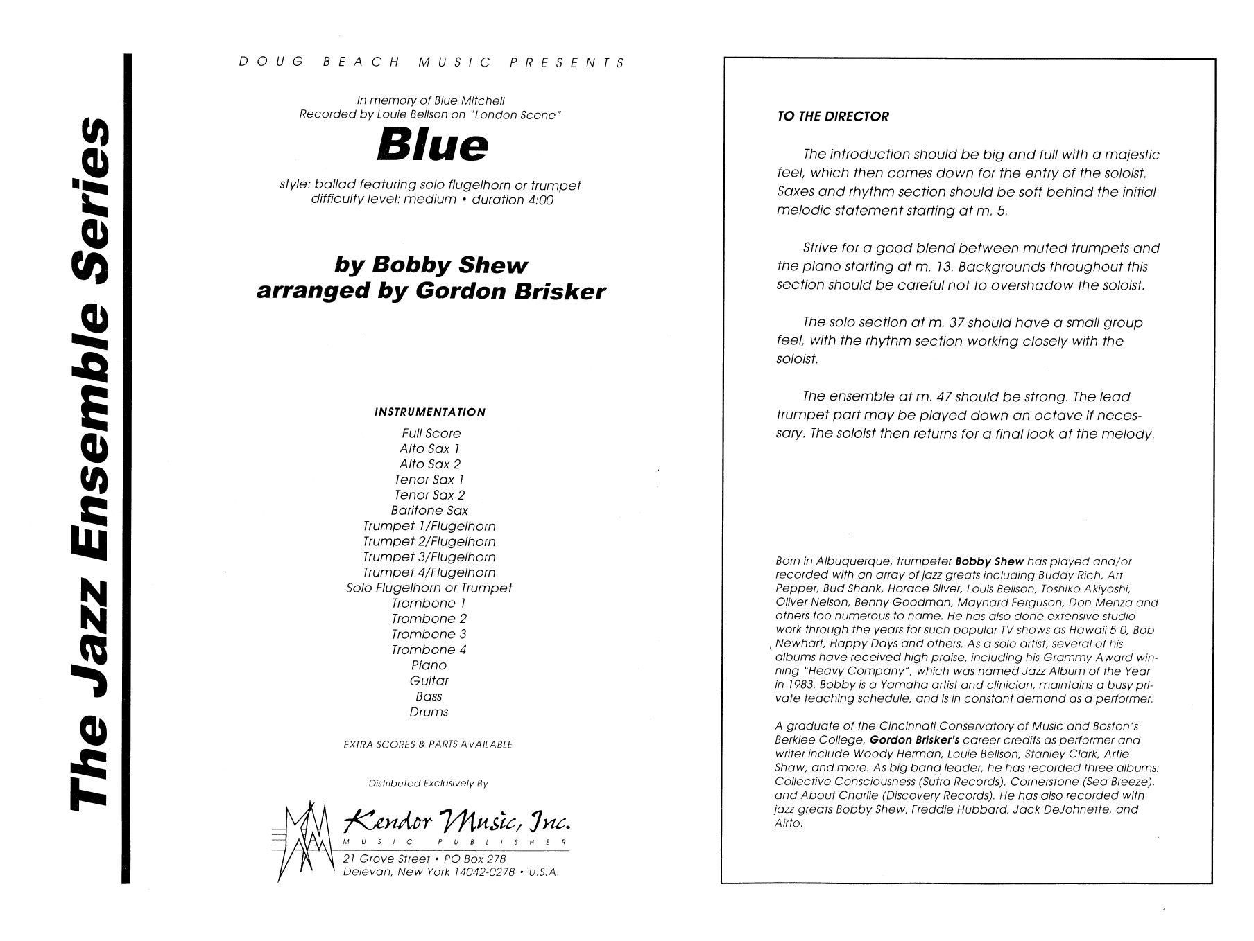 Blue - Band Music Download