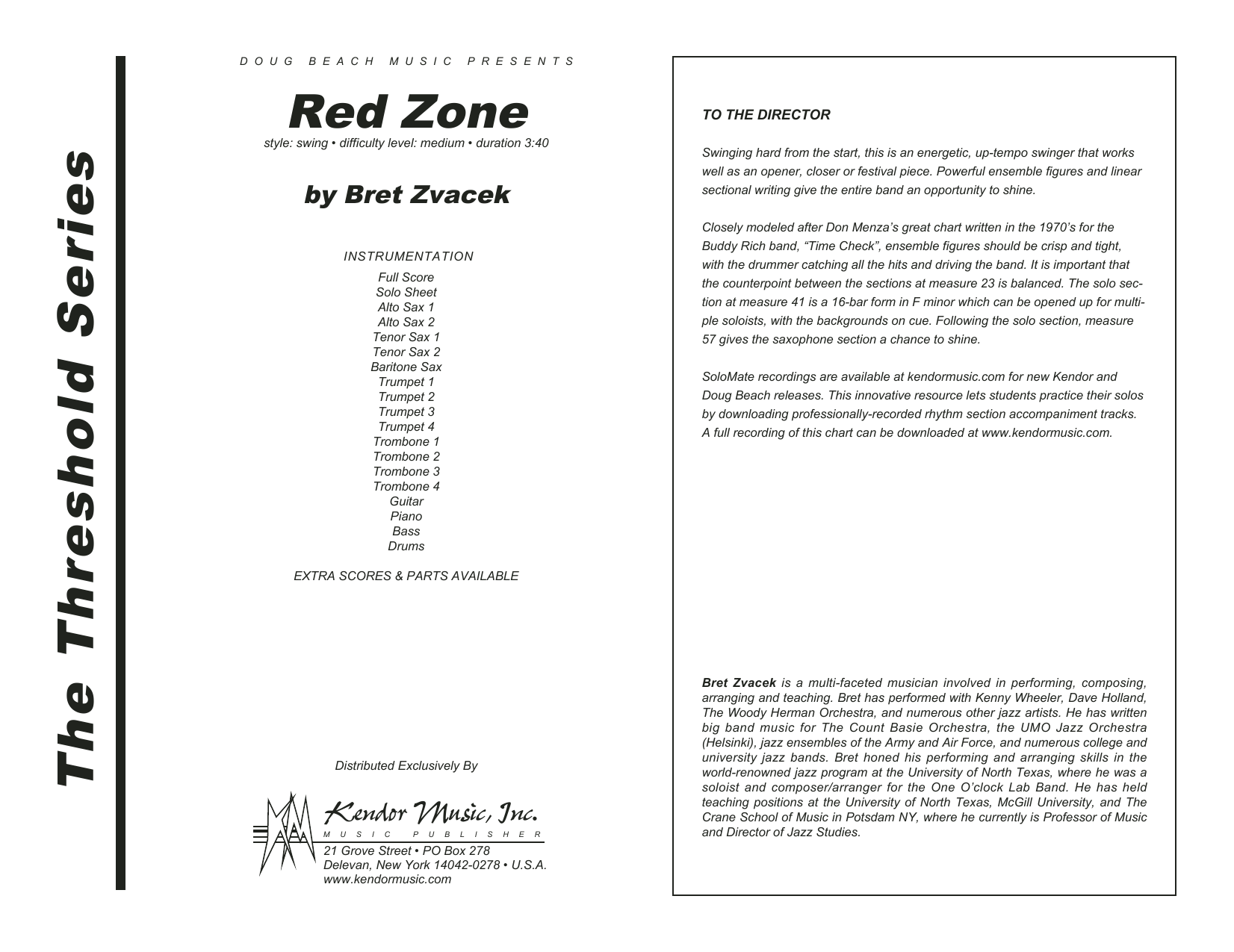 Red Zone - Band Music Download