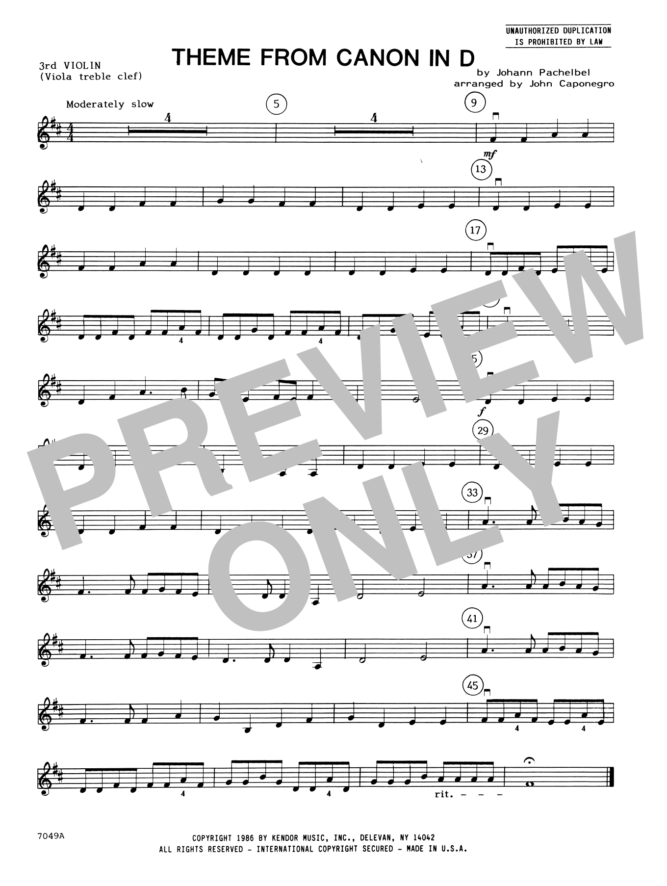 Sheet Music Digital Files To Print - Licensed Orchestra