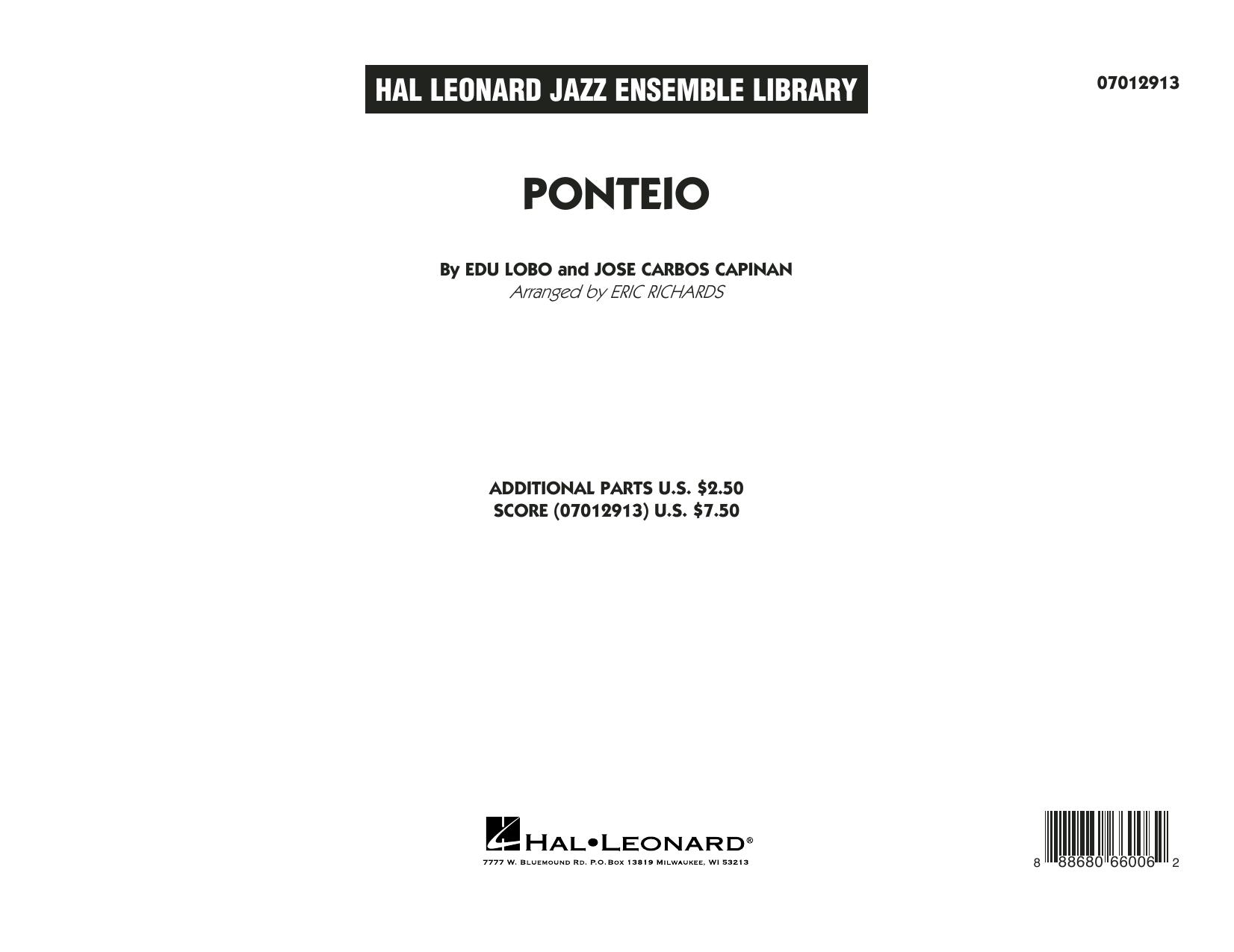 Ponteio - Conductor Score (Full Score) (Jazz Ensemble)