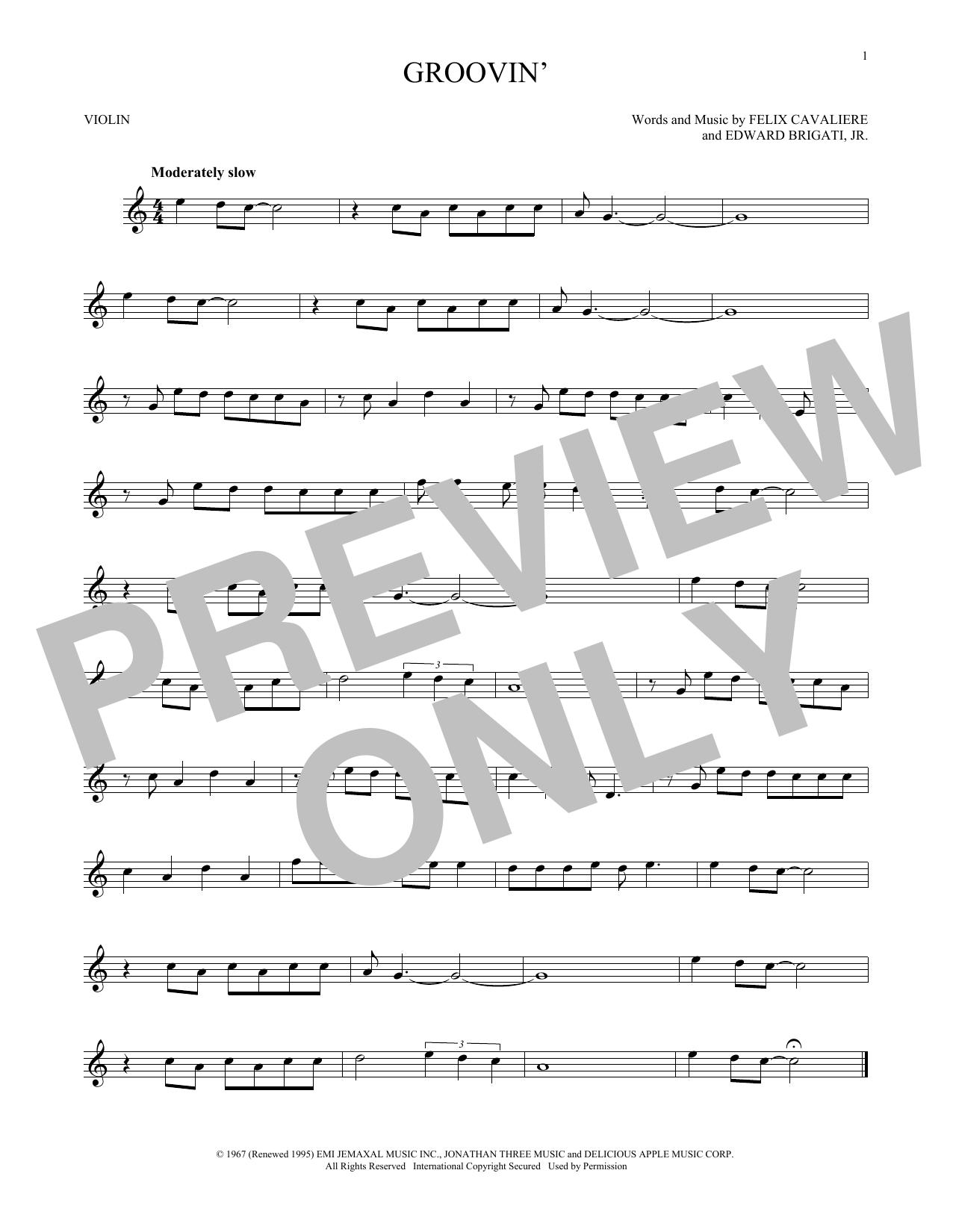 Groovin' (Violin Solo)