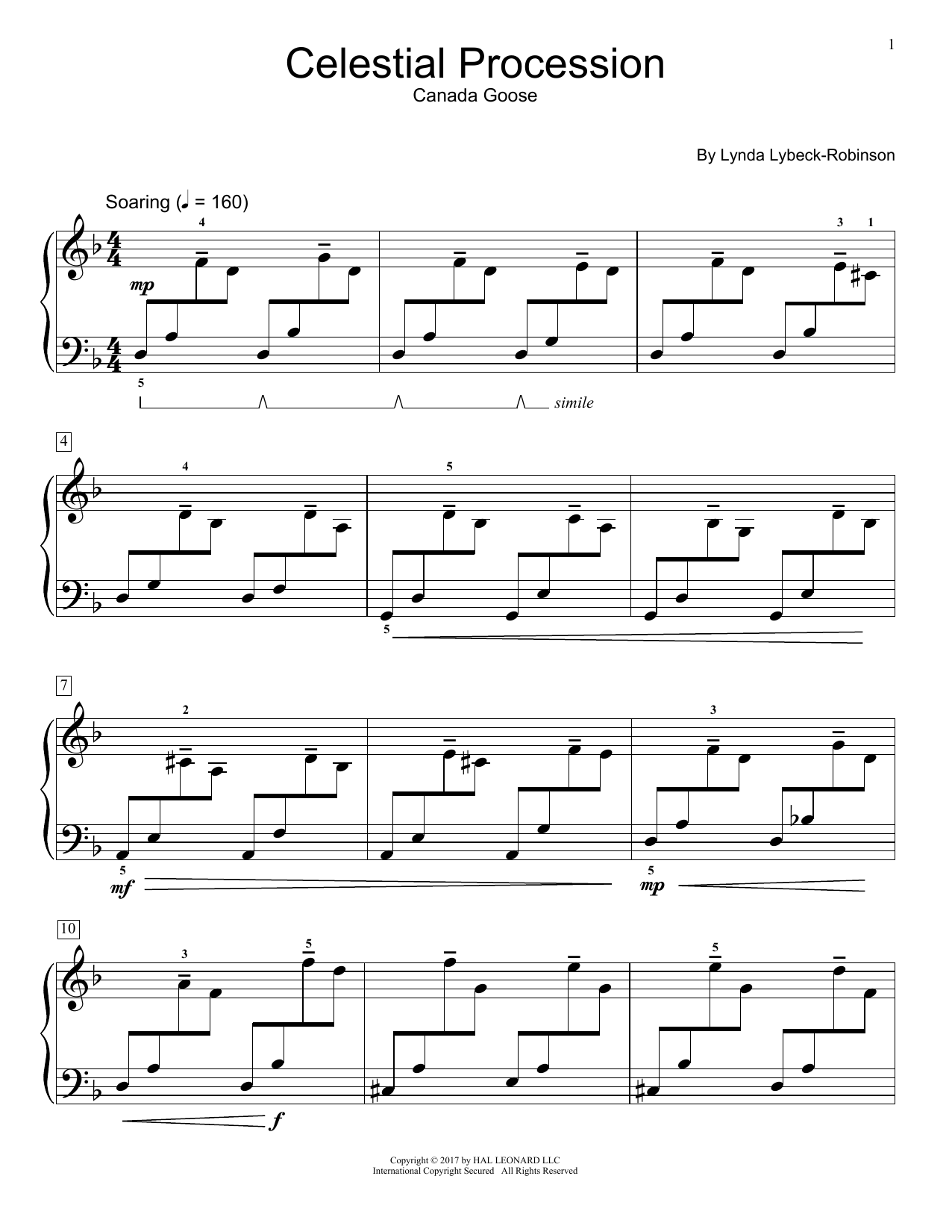 Celestial Procession (Educational Piano)